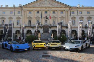 Diaporama 50 ans de supercars Lamborghini