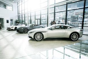 Diaporama Visite de l'usine Aston Martin à Gaydon