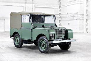 Diaporama Land Rover a 70 ans : de la boue aux beaux quartiers