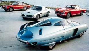 Les concept cars Bertone