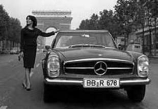 Paul Bracq chez Mercedes-Benz