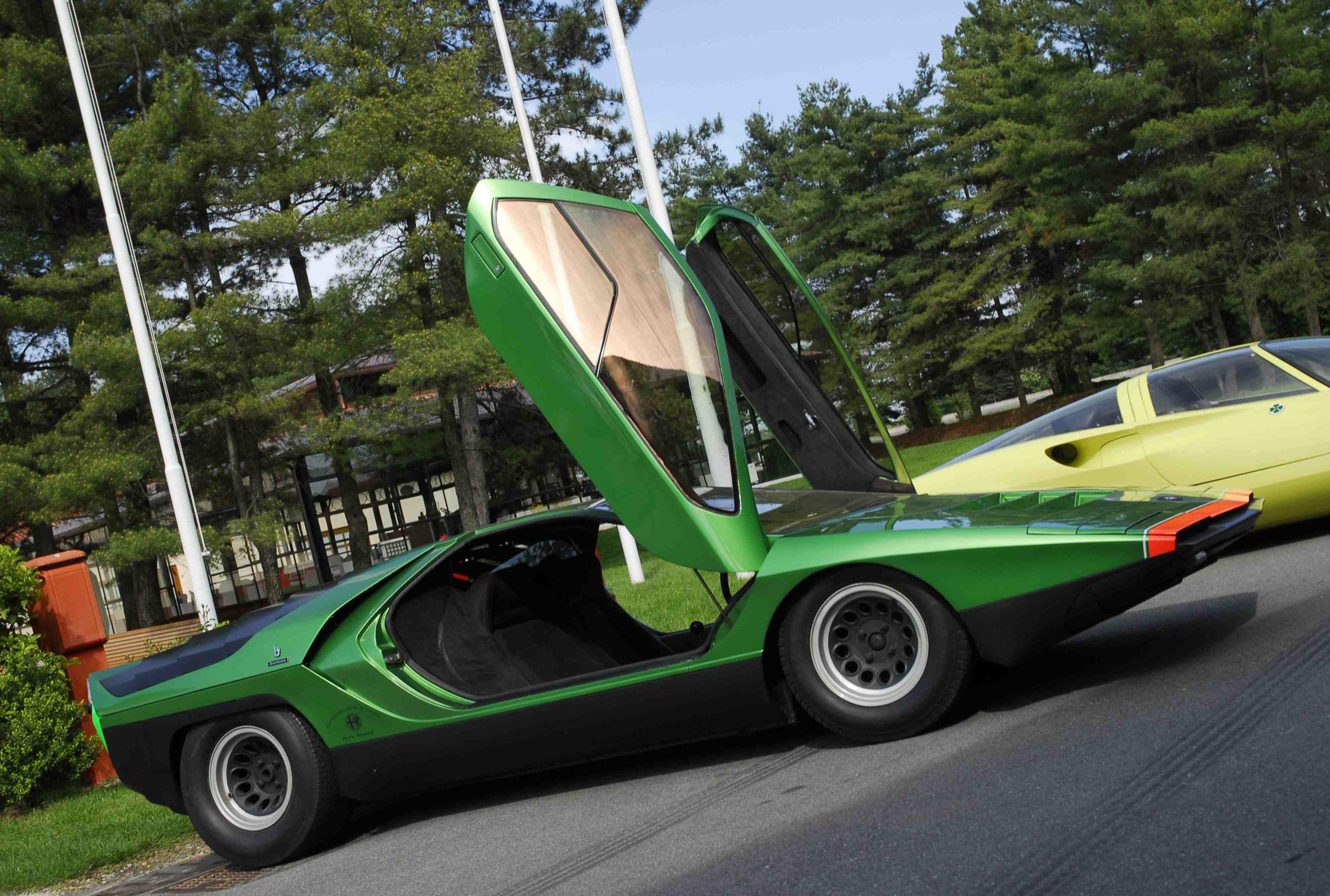 Alfa Romeo Disco Volante For Sale >> Alfa Romeo Carabo - Centenaire Alfa Romeo - diaporama ...