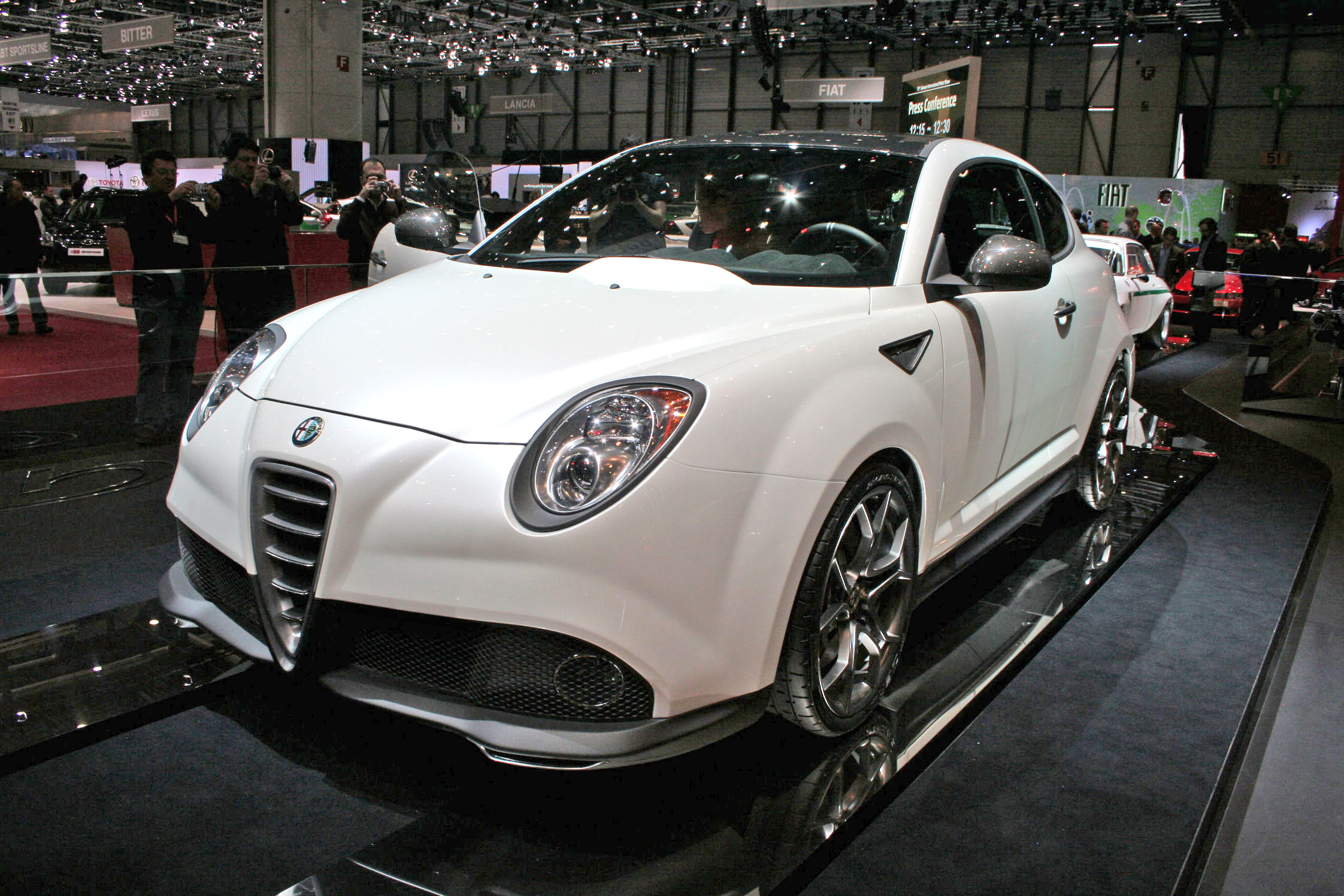 photo alfa romeo mito gta concept concept car 2009 m diatheque. Black Bedroom Furniture Sets. Home Design Ideas