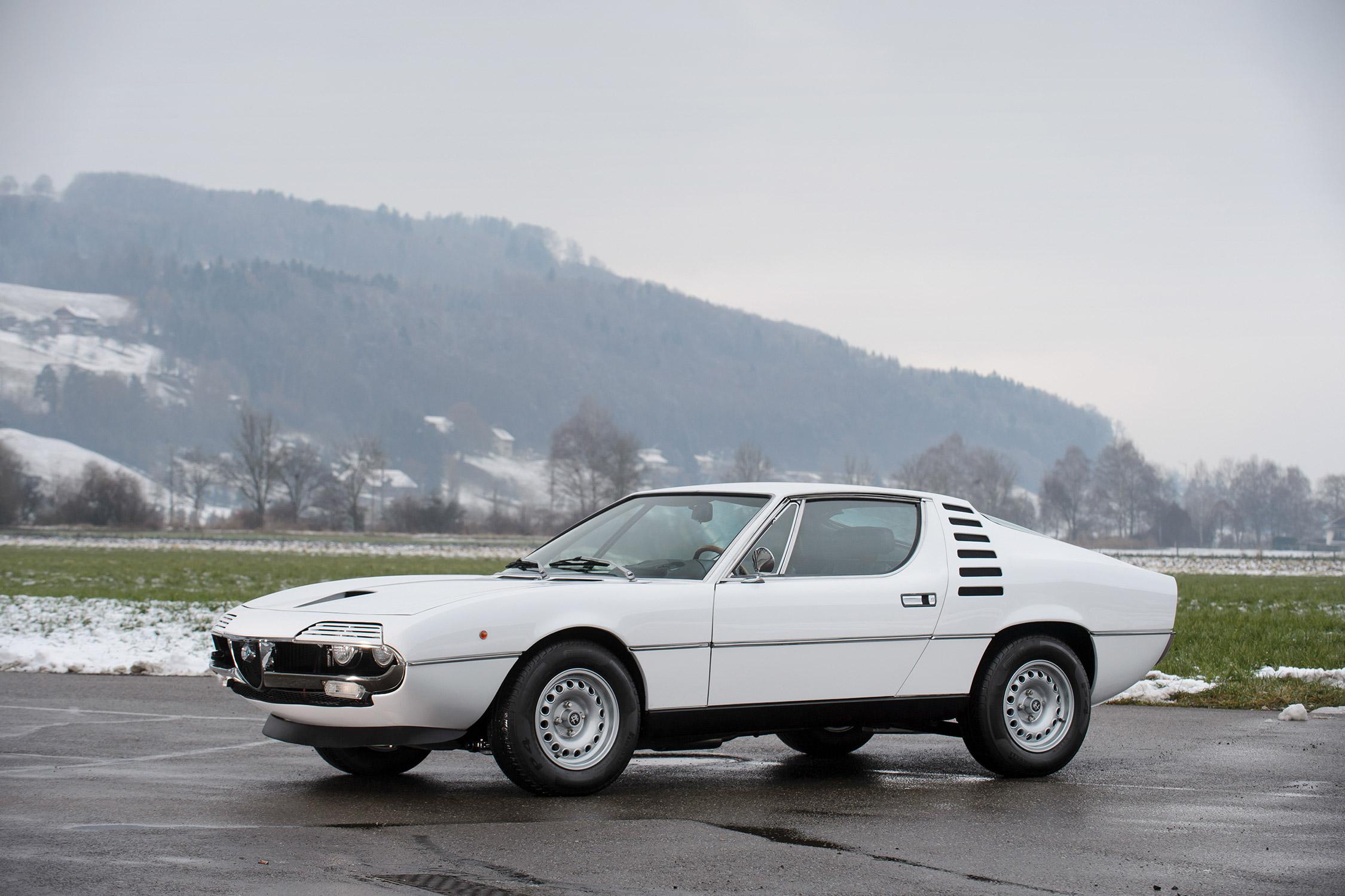 Photo Alfa Romeo Montreal V8 200 Ch Coup 233 1973