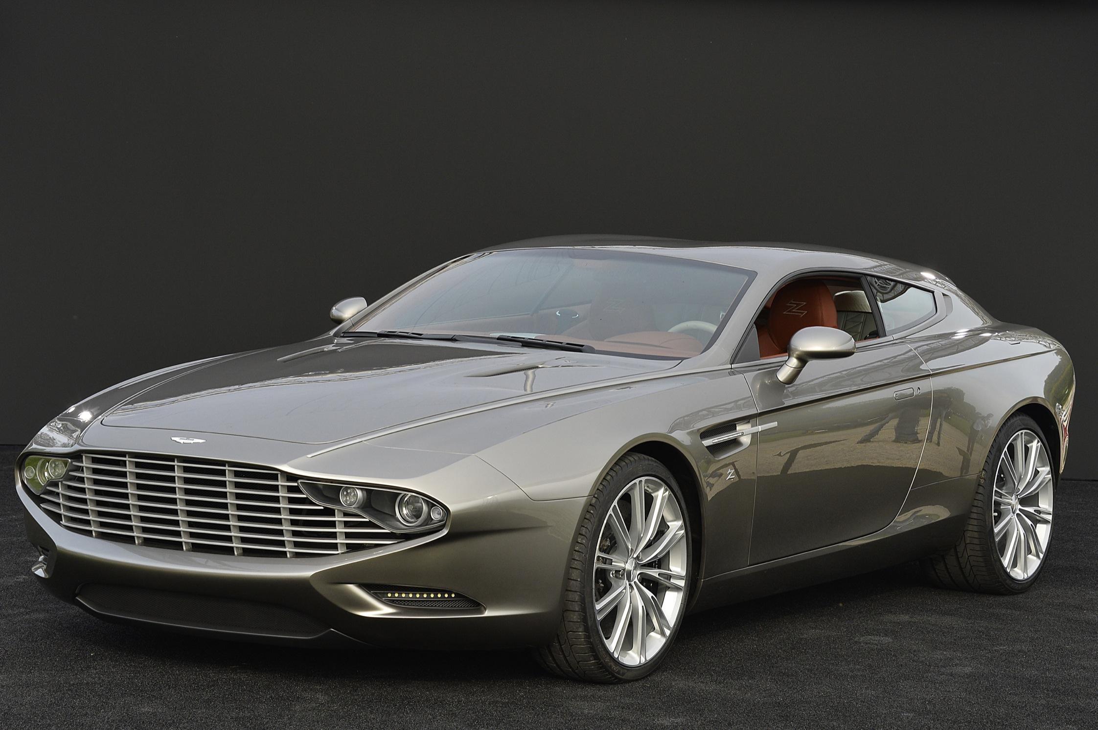 Photo Aston Martin Virage Shooting Brake Zagato Concept