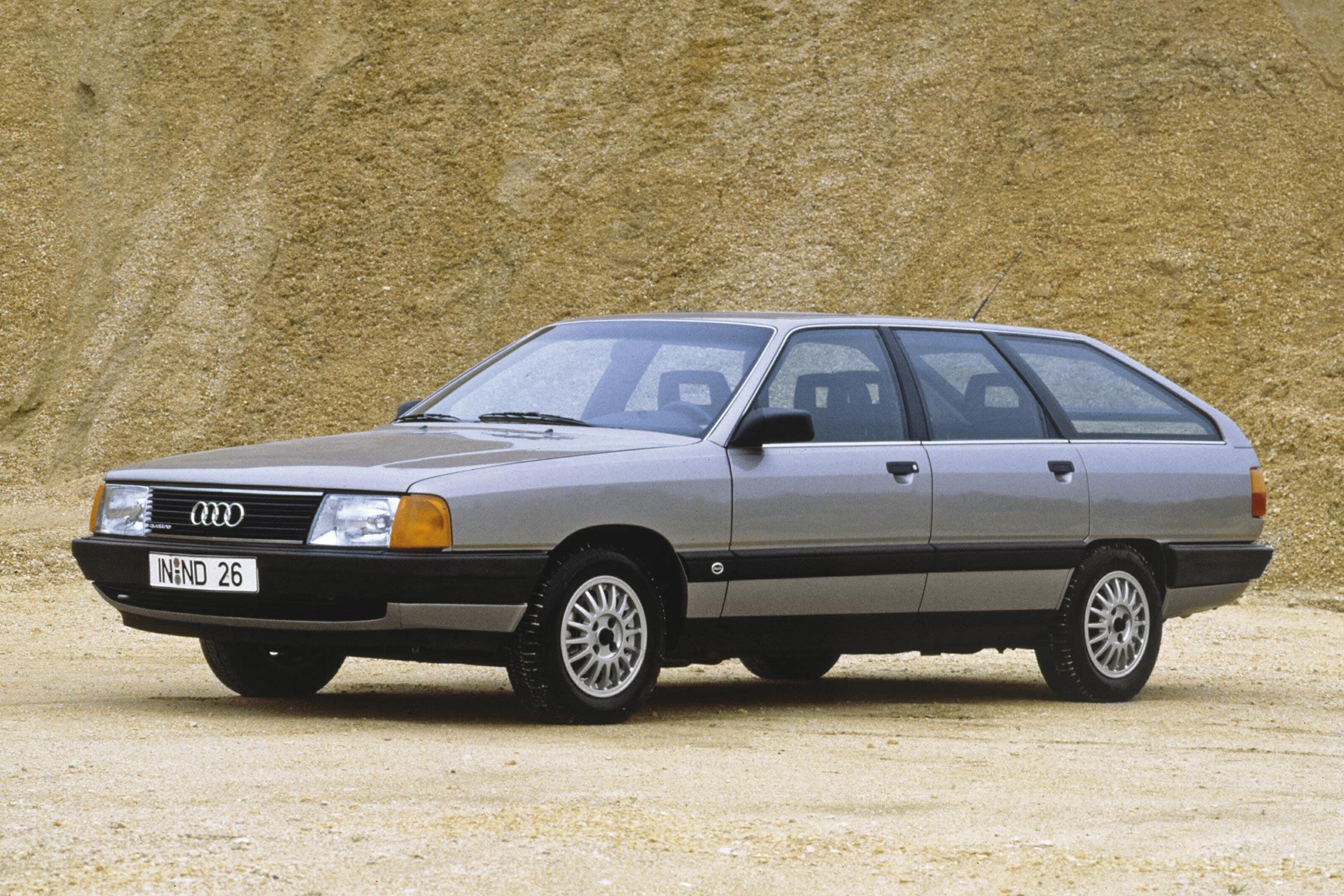 Photo Audi 100 C3 2 2 E Quattro Break 1983 M 233 Diatheque