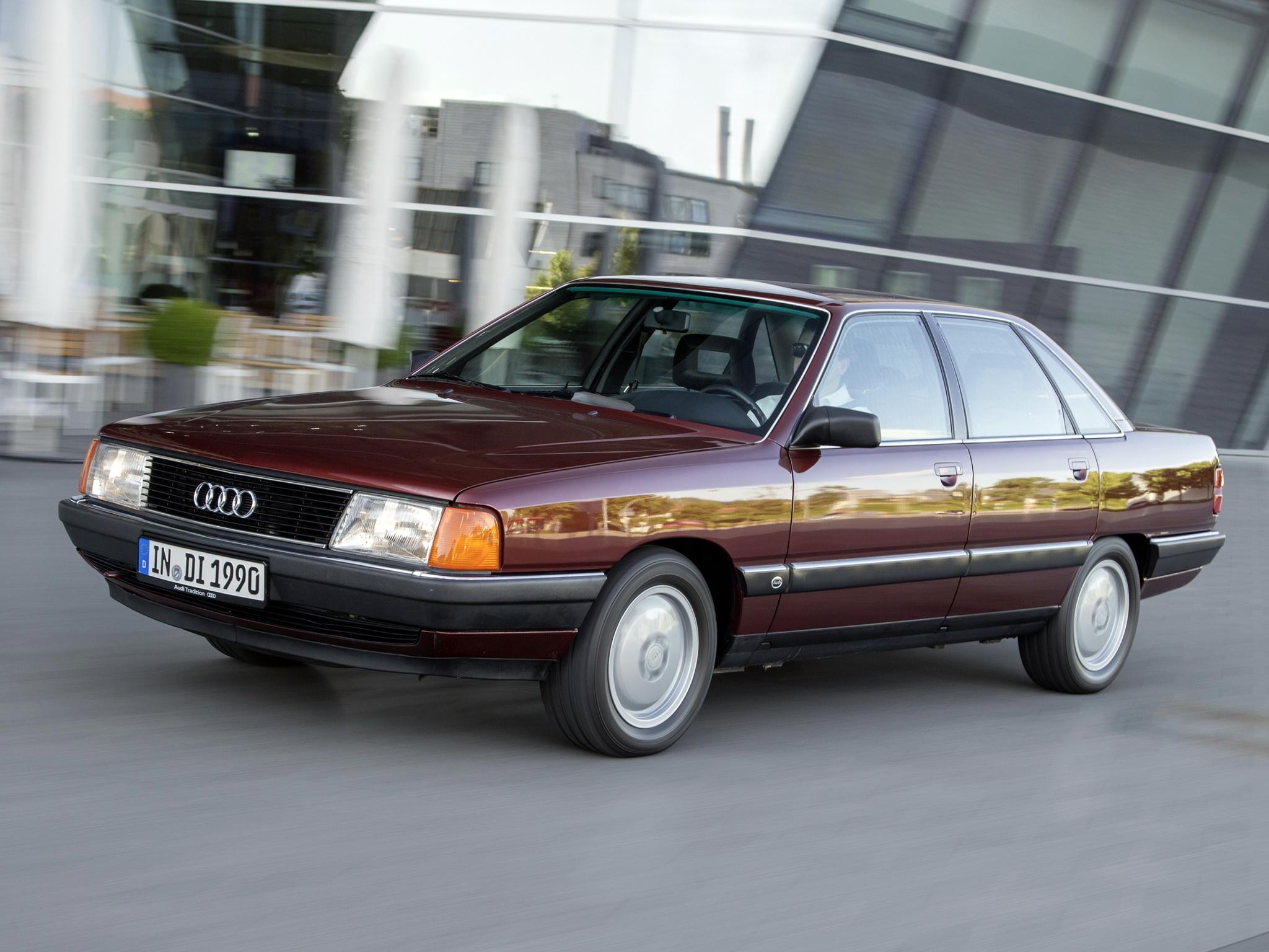 Photo Audi 100 C3 2 5 Tdi Berline 1990 M 233 Diatheque