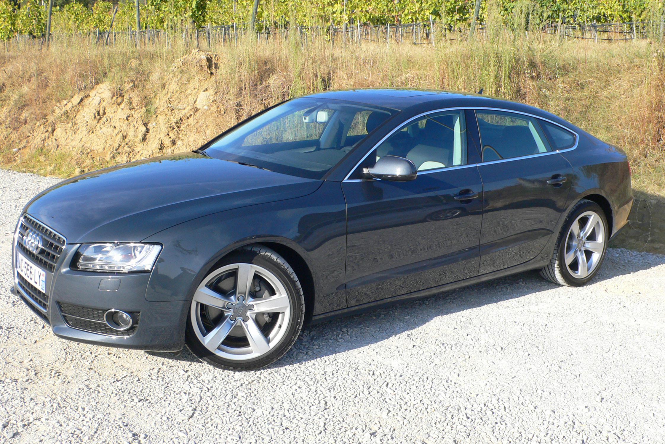 photo audi a5 sportback i 3 0 tdi v6 240 ch dpf quattro berline 2009 m diatheque. Black Bedroom Furniture Sets. Home Design Ideas