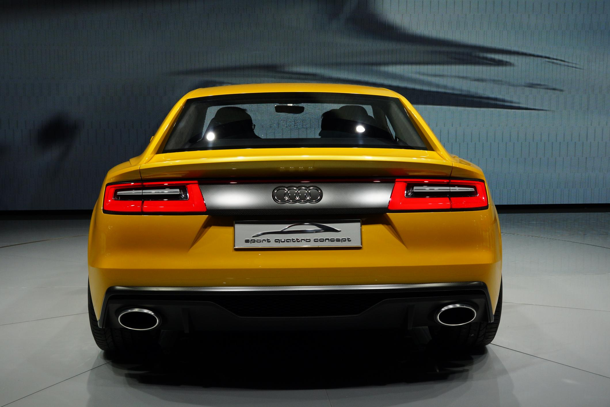 photo audi sport quattro hybride concept concept car 2013 m diatheque. Black Bedroom Furniture Sets. Home Design Ideas