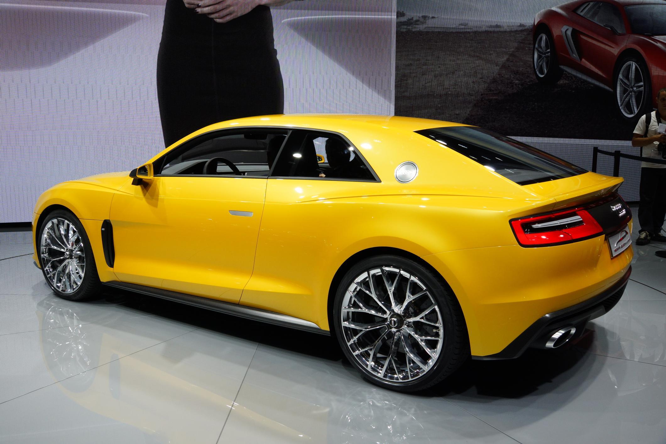 photo audi sport quattro hybride concept concept car 2013. Black Bedroom Furniture Sets. Home Design Ideas