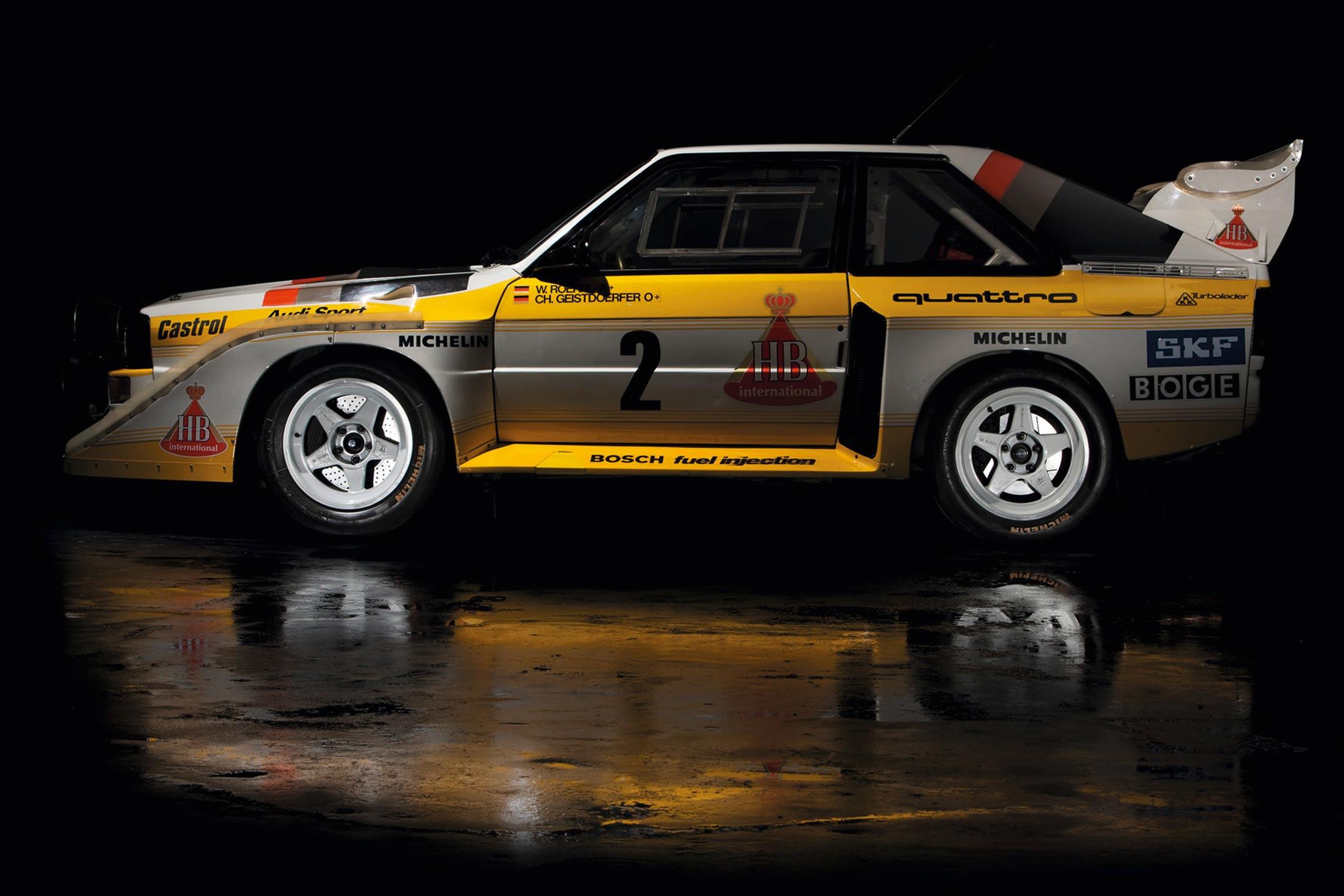 1985 sport quattro s1 en groupe b 500 ch audi quattro. Black Bedroom Furniture Sets. Home Design Ideas
