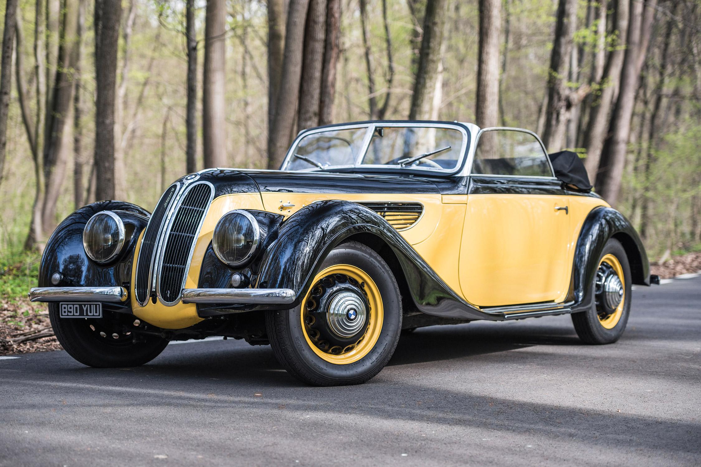 Photo Bmw 327 Sport Cabriolet 1938 M 233 Diatheque