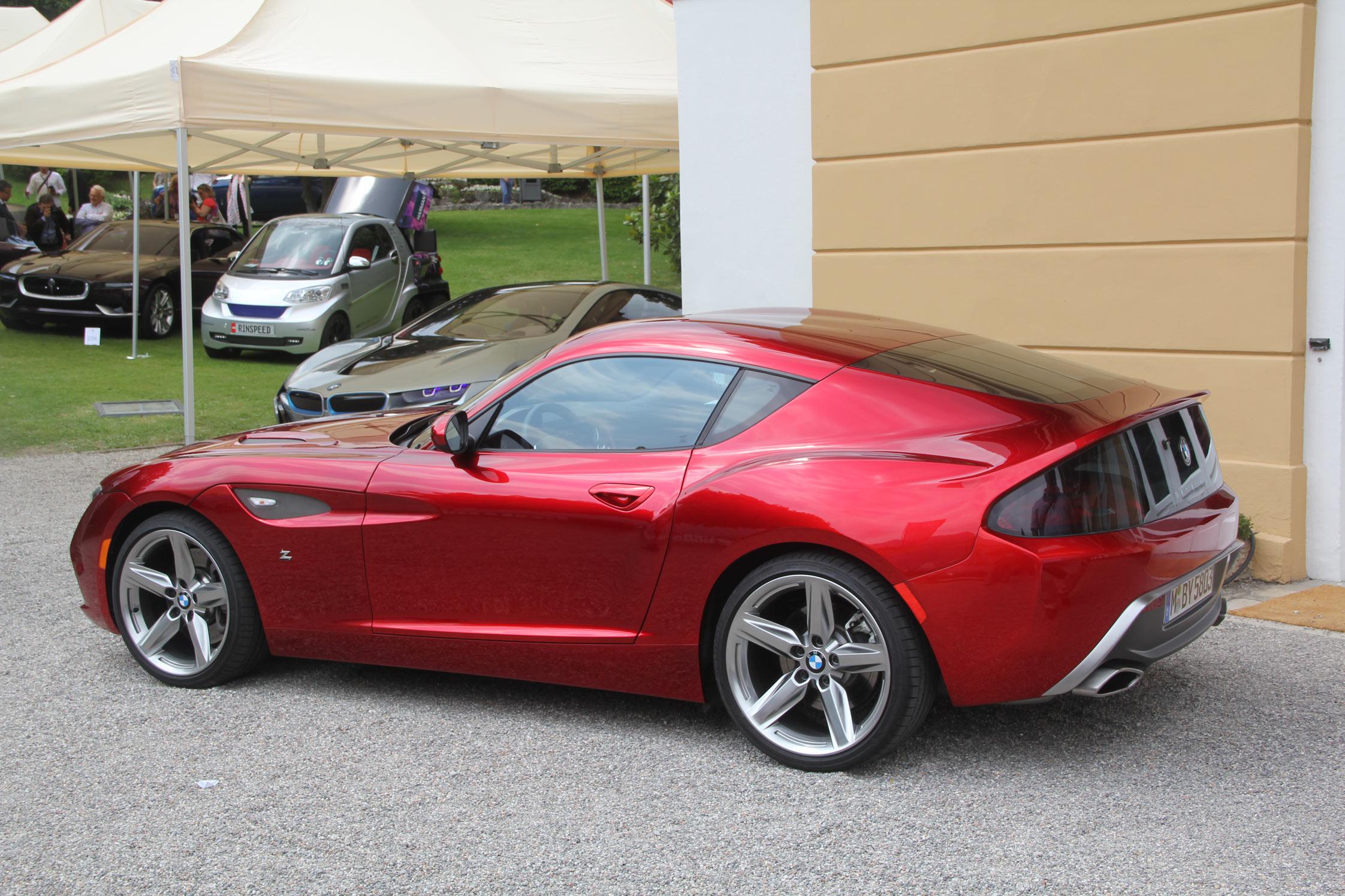 2012 Bmw Zagato Coupe Concept (49 Images) - New HD Car Wallpaper