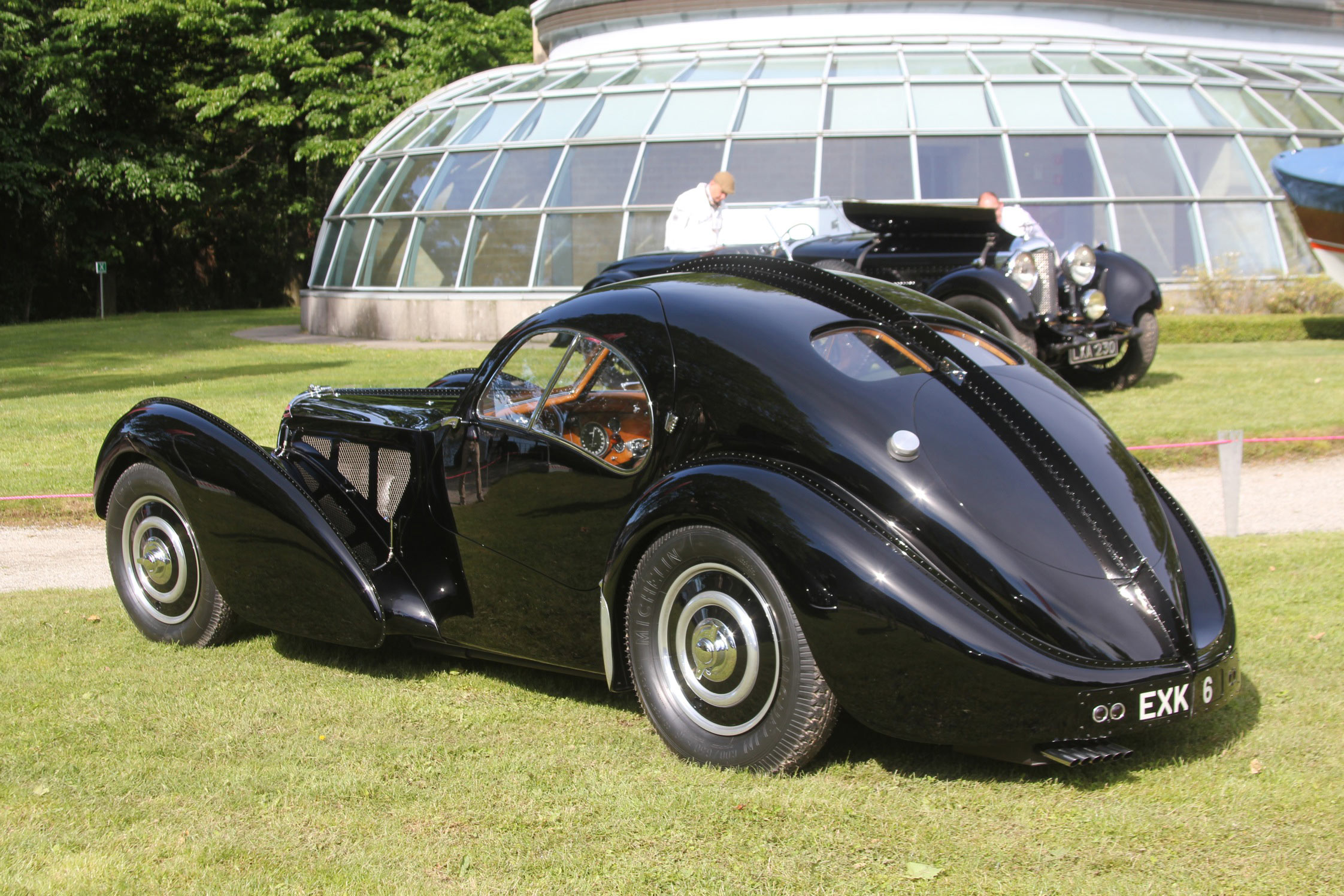 Photo Bugatti Type 57 Sc Atlantic Coup 233 1938 M 233 Diatheque