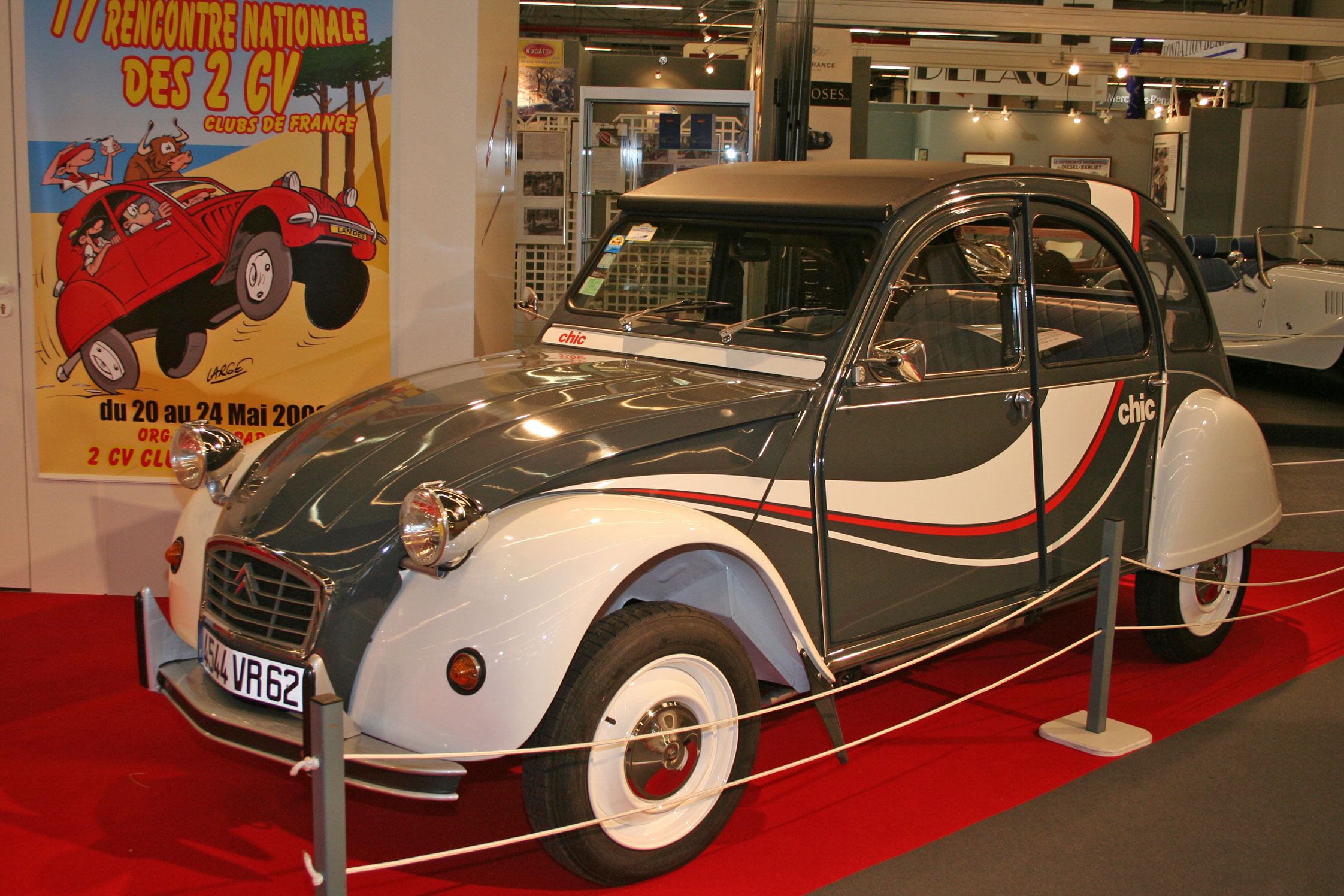 photo citroen 2 cv concept car 1986 m diatheque. Black Bedroom Furniture Sets. Home Design Ideas