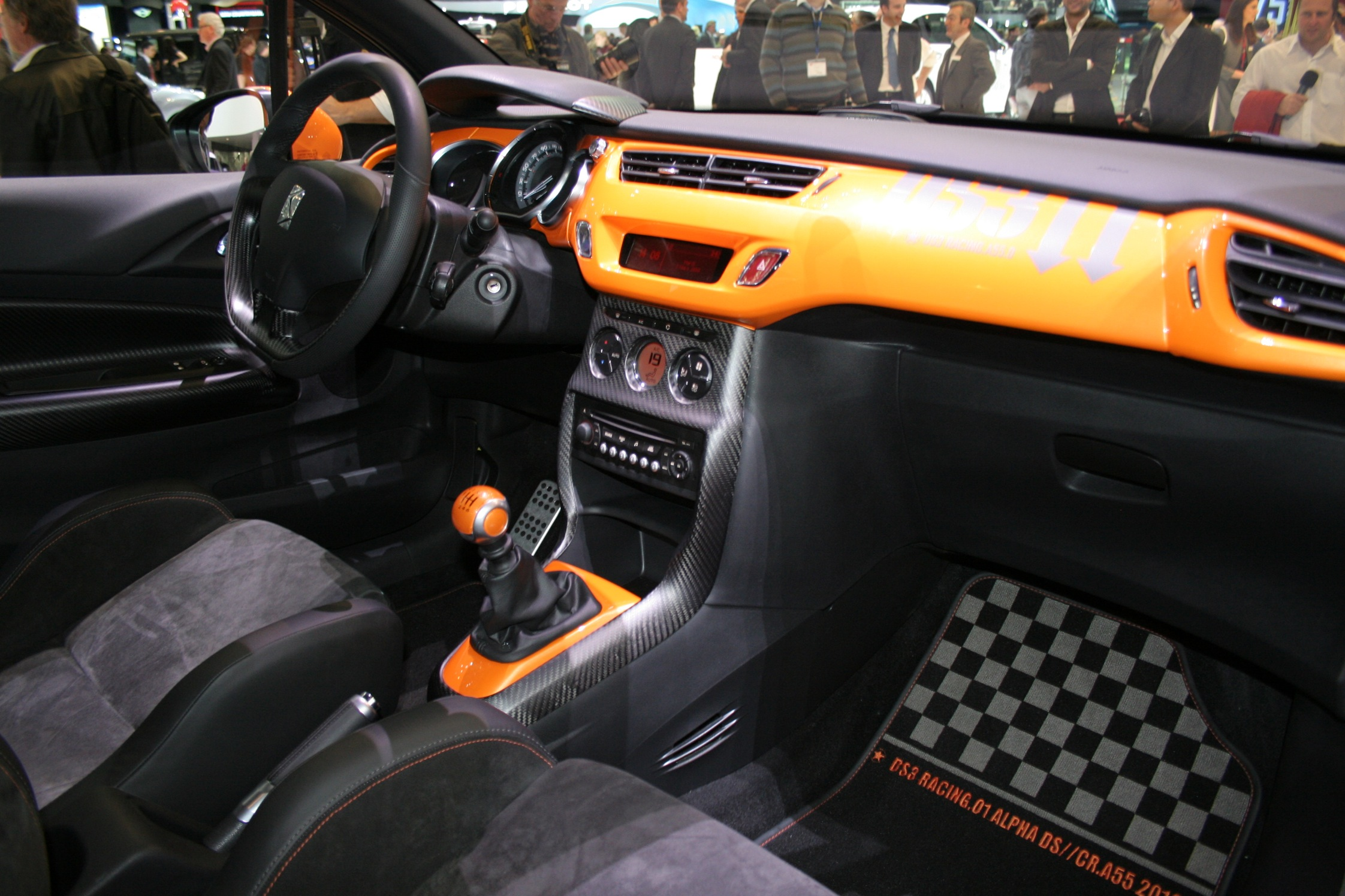 photo citroen ds3 racing 1 6 202 ch berline 2010 m diatheque. Black Bedroom Furniture Sets. Home Design Ideas
