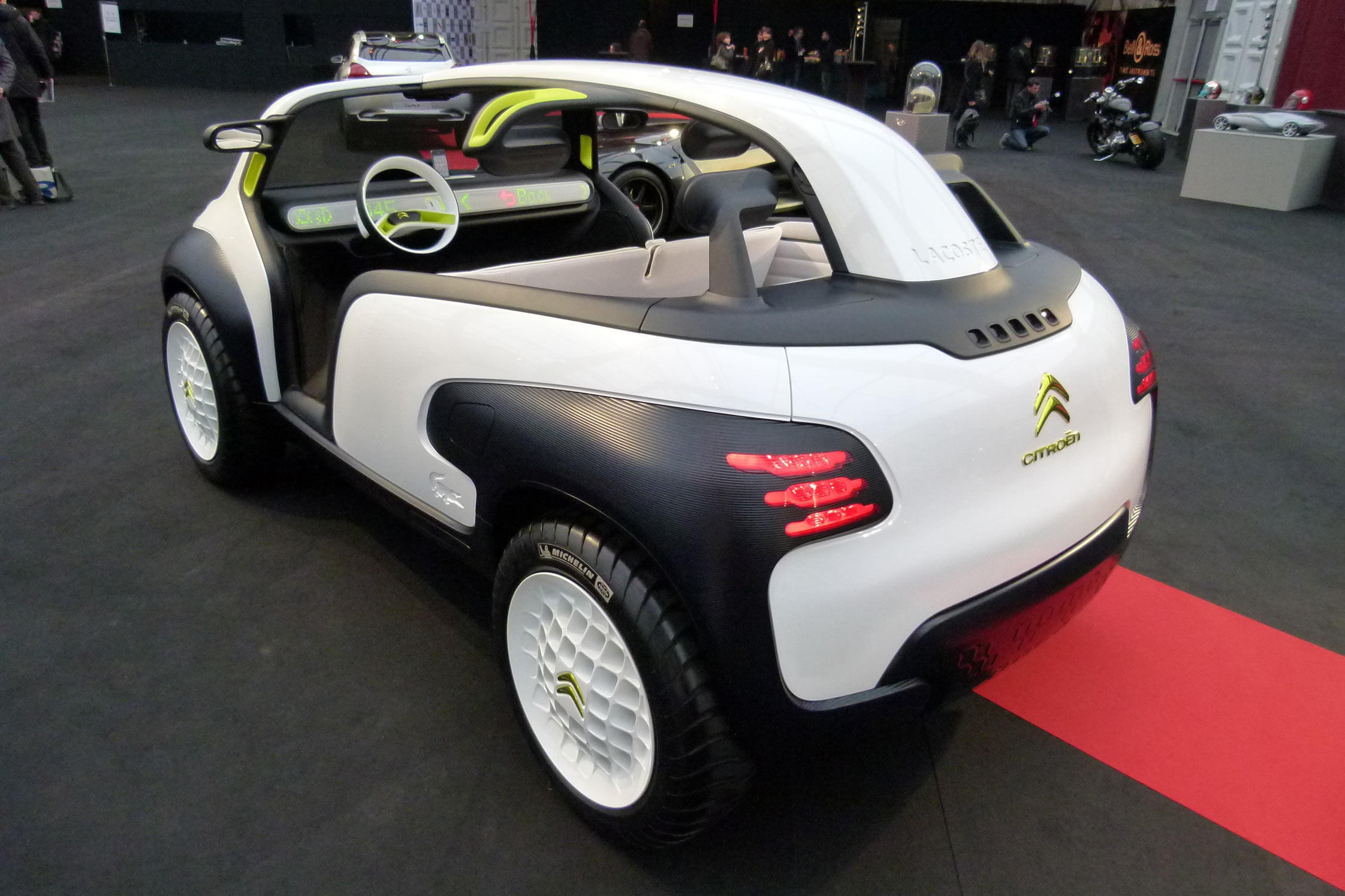 photo citroen lacoste concept concept car 2010 m diatheque. Black Bedroom Furniture Sets. Home Design Ideas