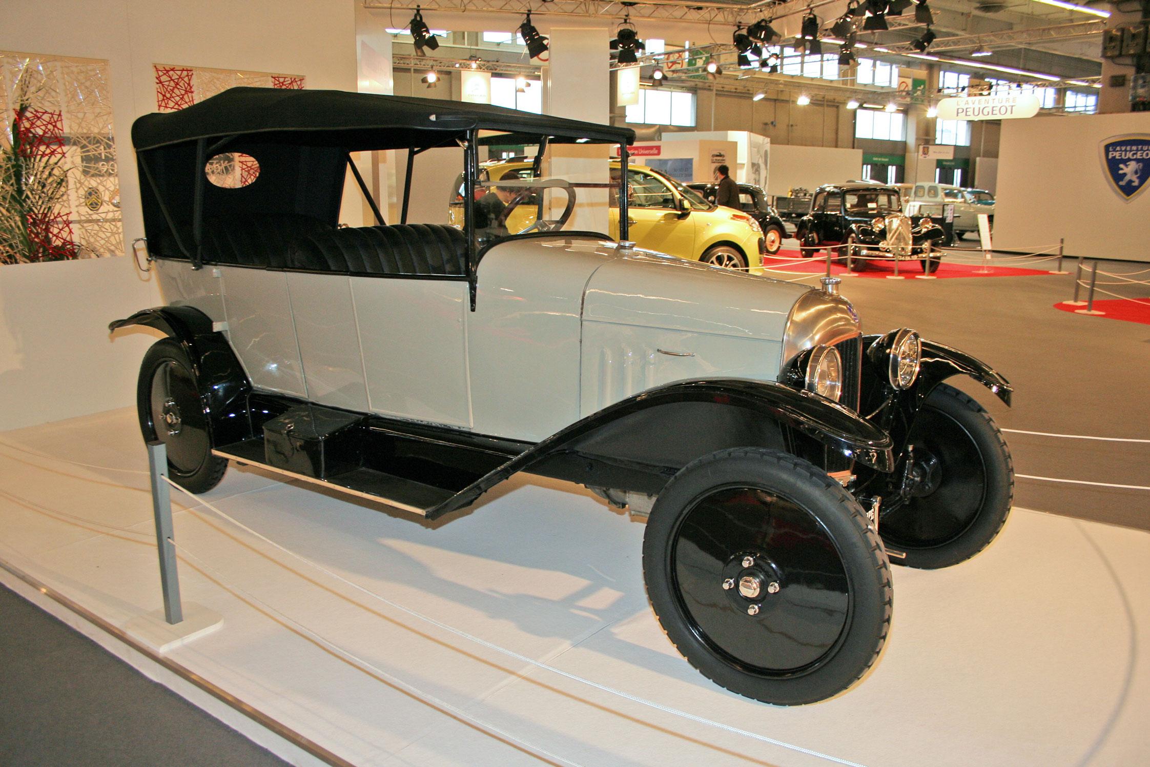 Citroën Type A Torpedo 1919