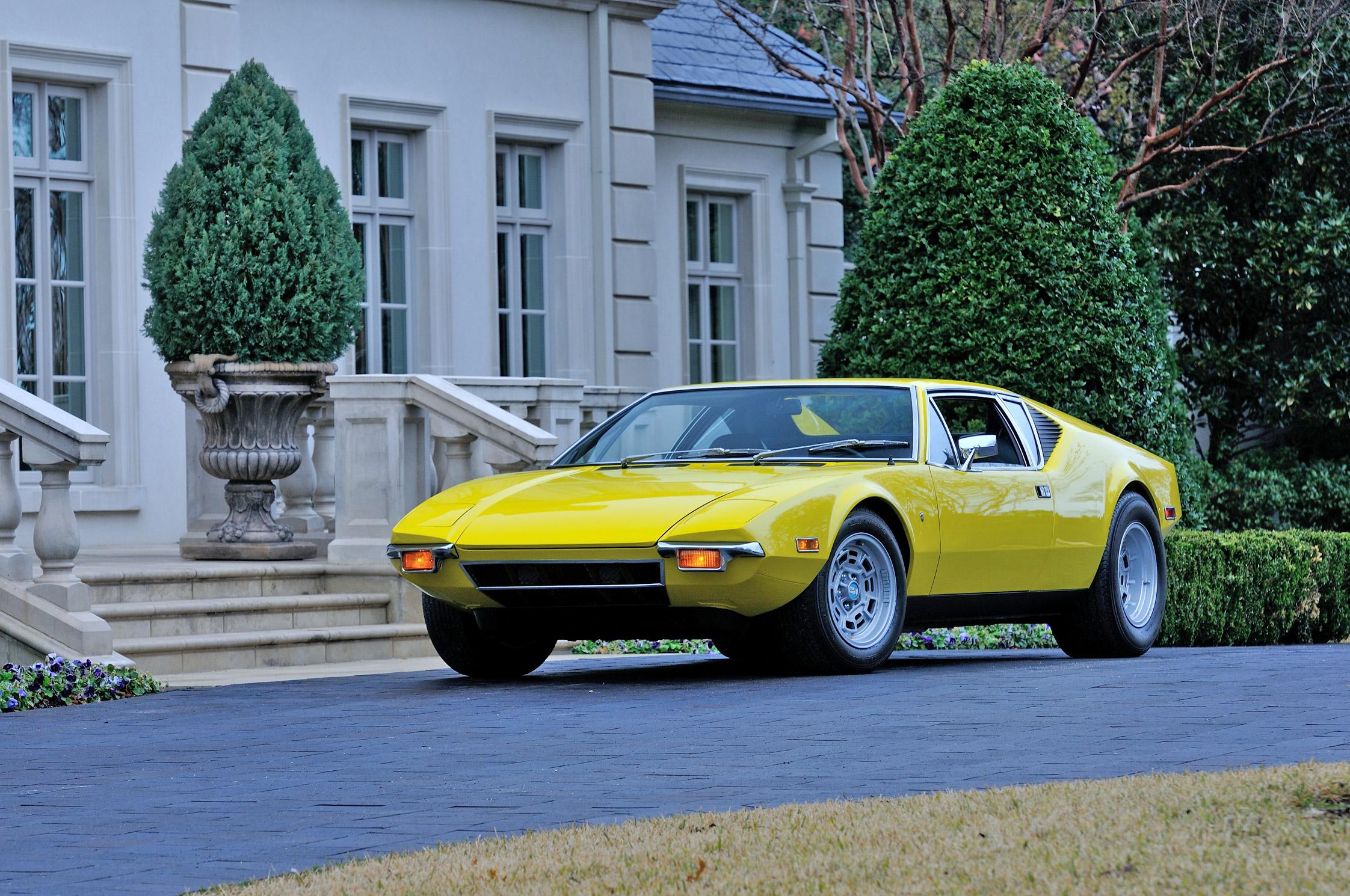 Photo De Tomaso Pantera Coup 233 1972 M 233 Diatheque Motorlegend Com