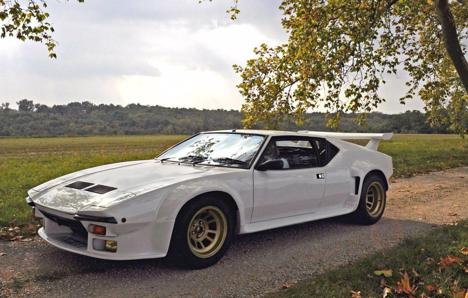 Photo De Tomaso Pantera Gt5 Coup 233 1981 M 233 Diatheque Motorlegend Com
