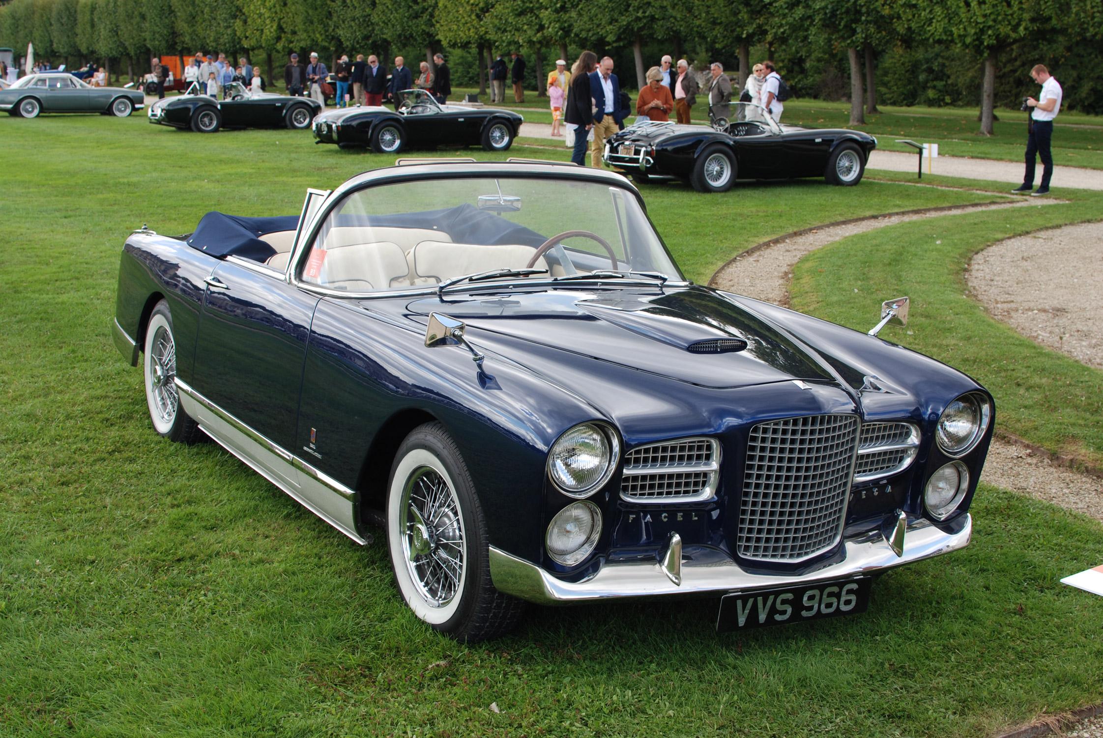 Facel Vega Fv2 B Cabriolet 1957 Chantilly Arts Et