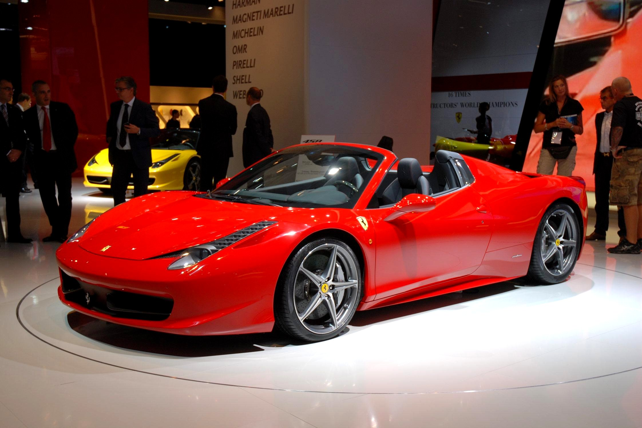 photo ferrari 458 spider cabriolet 2011 m diatheque. Black Bedroom Furniture Sets. Home Design Ideas