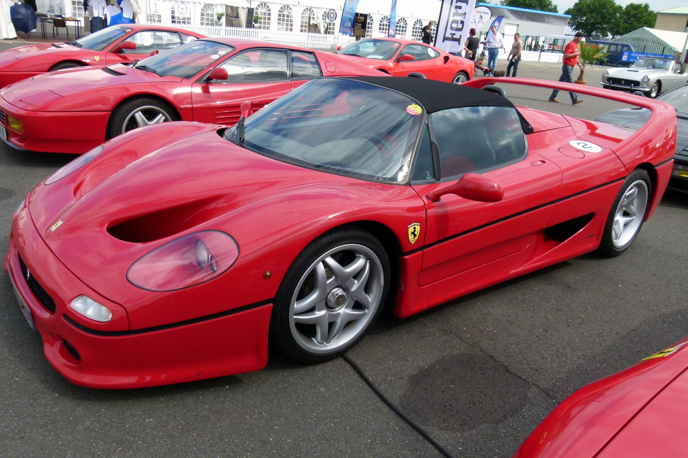 photo ferrari f50 4 7 v12 cabriolet 1995 m diatheque. Black Bedroom Furniture Sets. Home Design Ideas