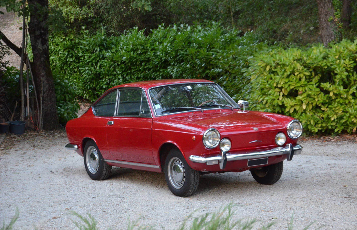 photo fiat 850 sport coup coup 1970 m diatheque. Black Bedroom Furniture Sets. Home Design Ideas
