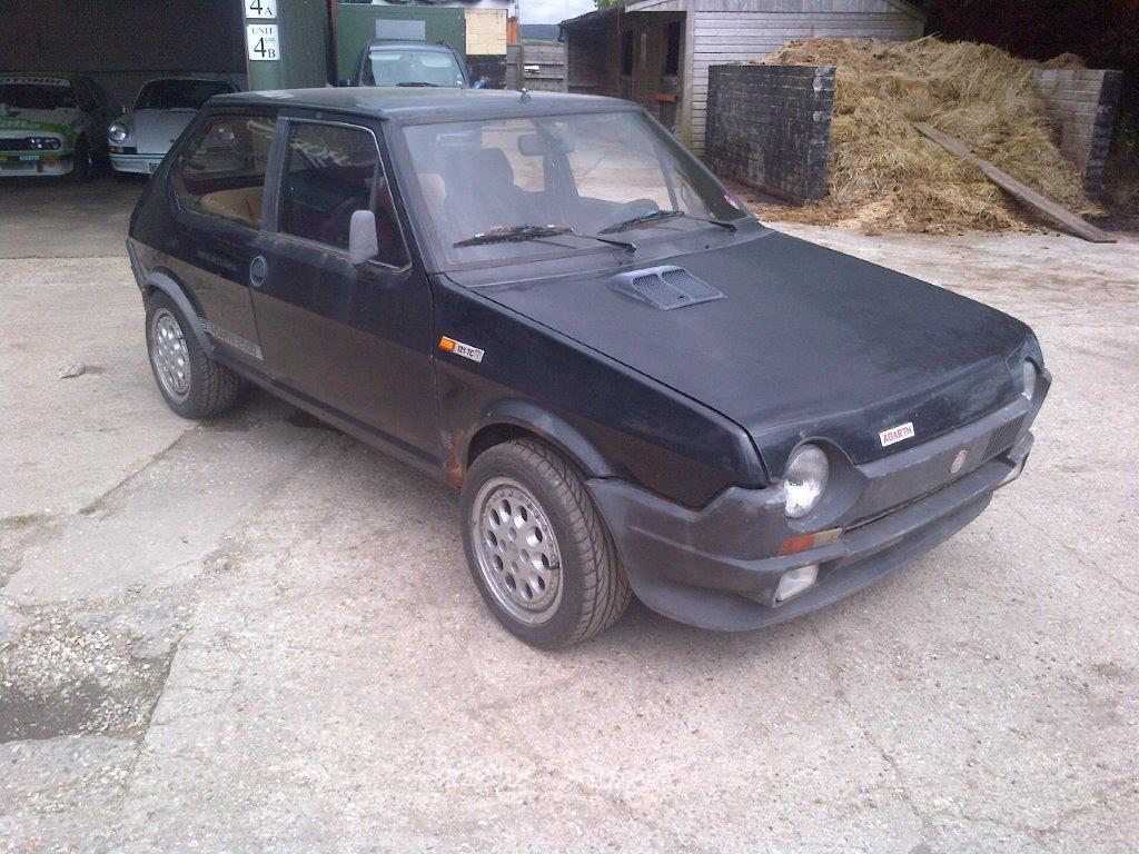 photo fiat ritmo abarth 125tc coup 1982 m diatheque. Black Bedroom Furniture Sets. Home Design Ideas