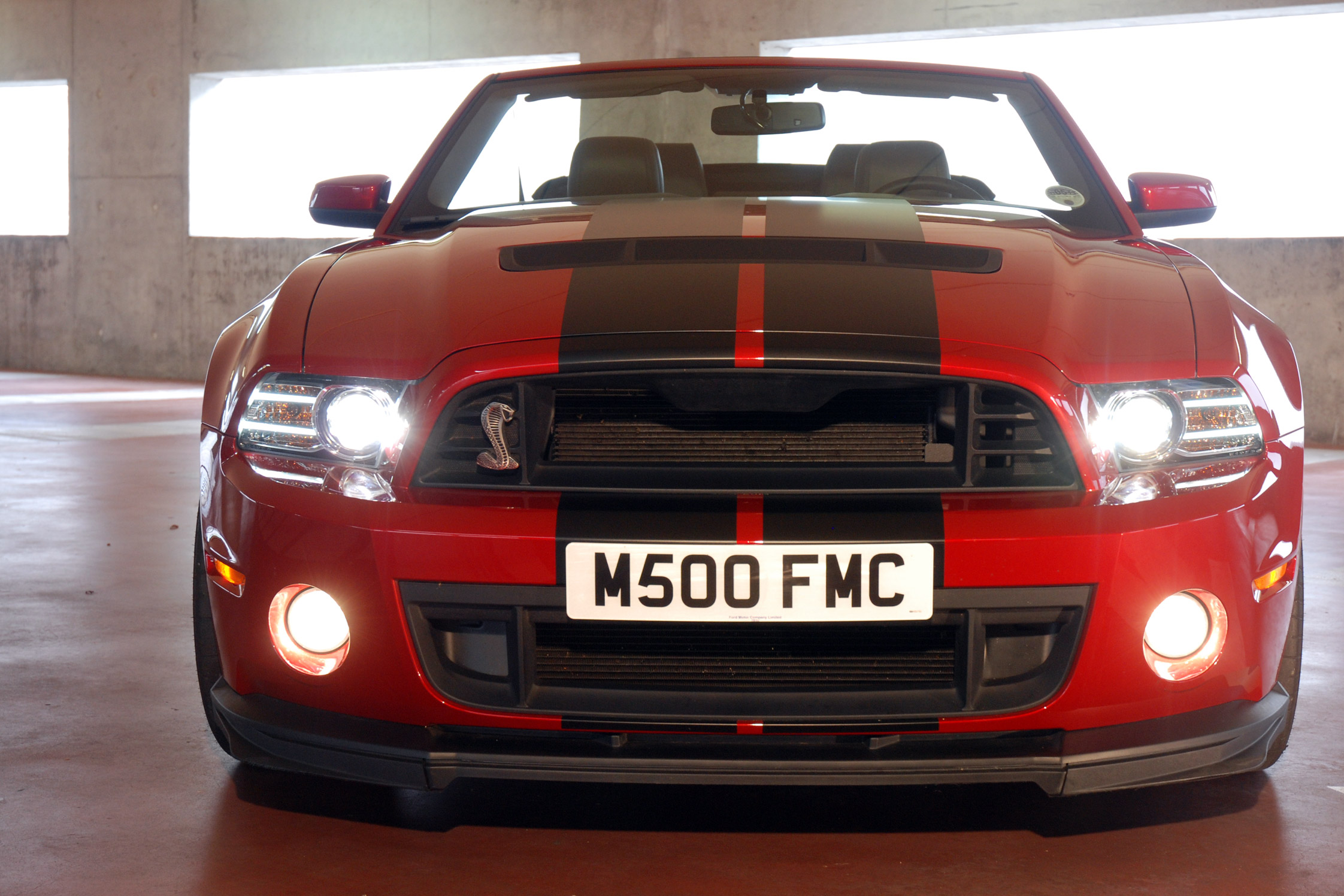 Photo Ford Mustang V 2005 14 Serie 2 Shelby Gt500