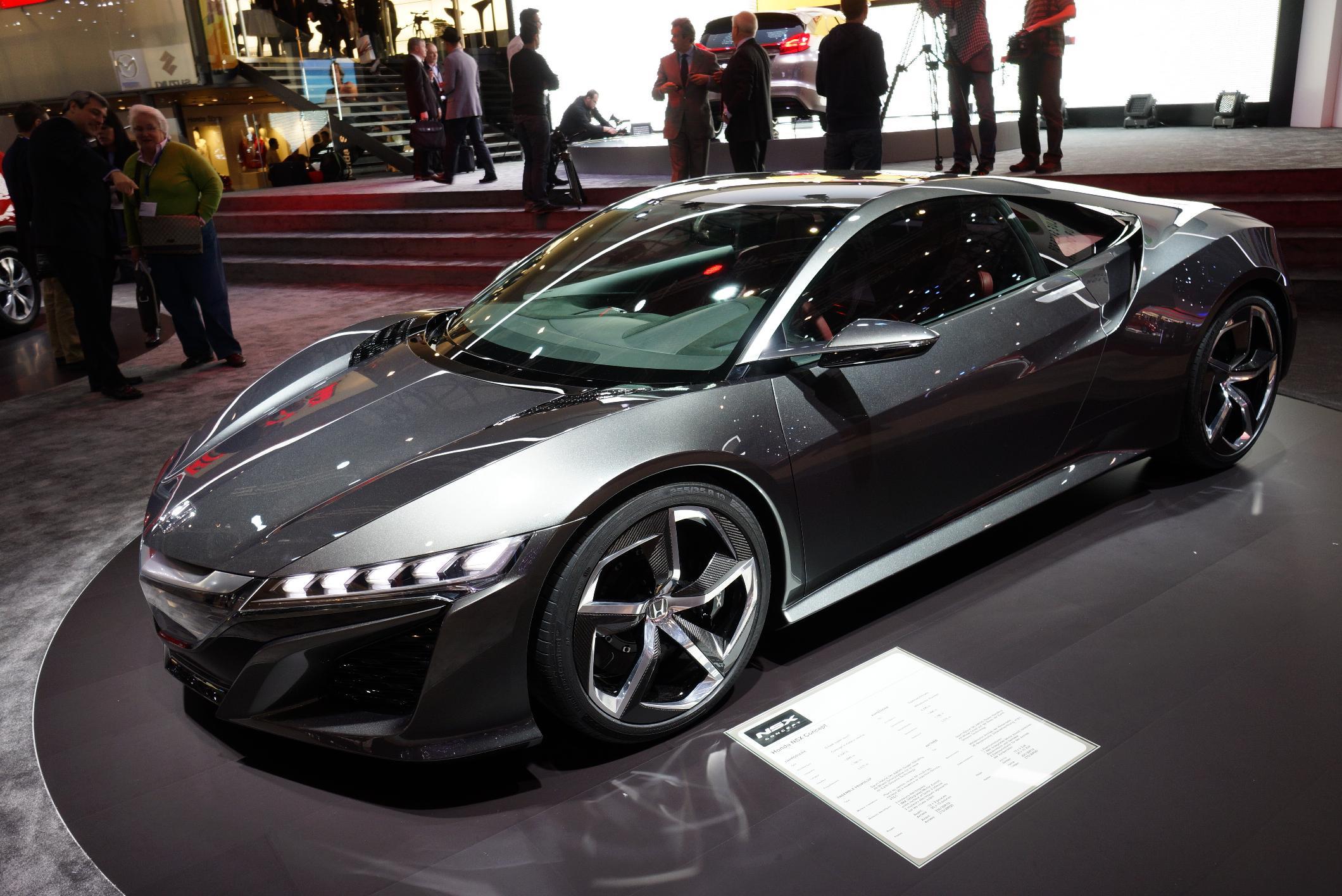 photo HONDA NSX Concept concept-car 2013 - Motorlegend.com