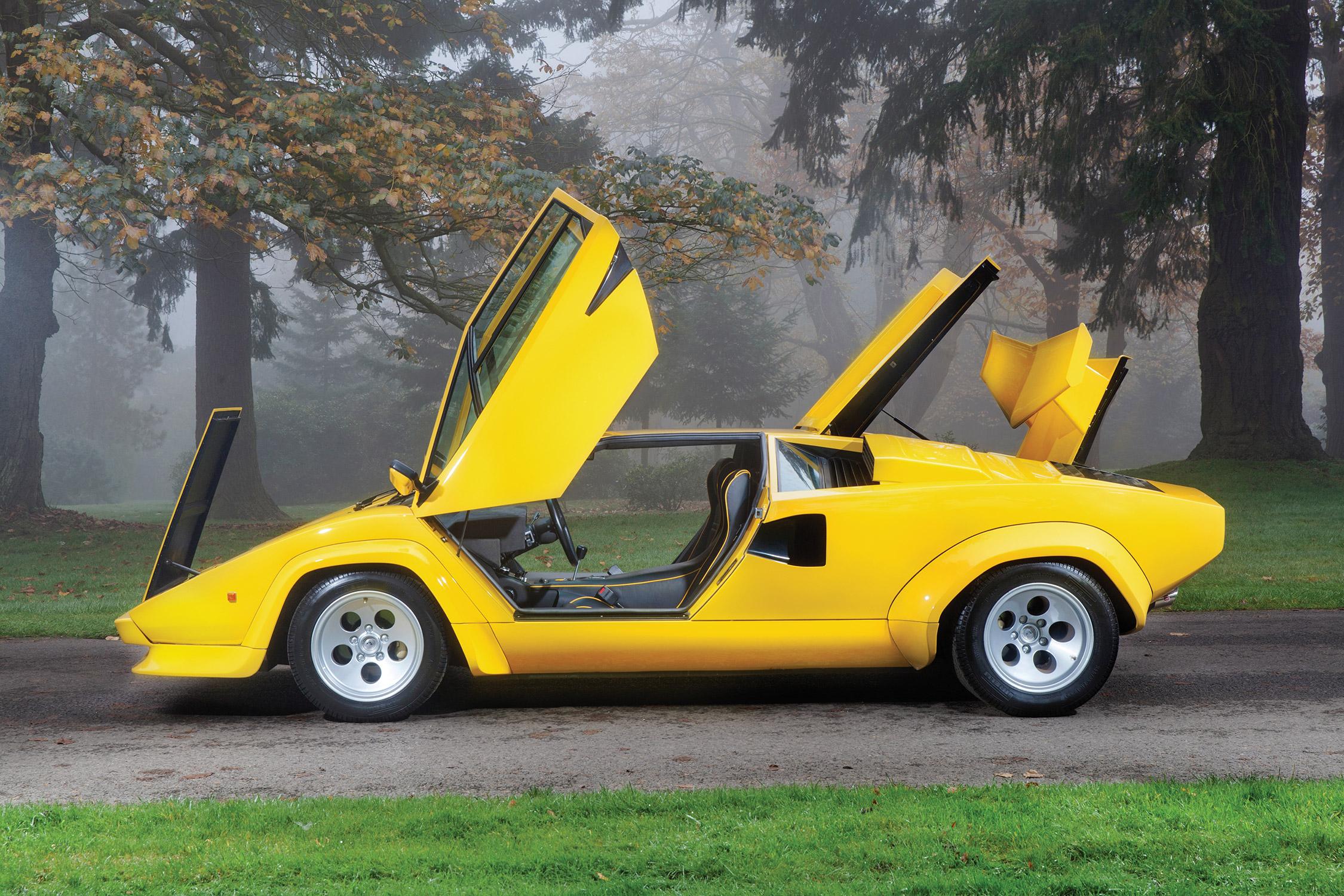 Photo Lamborghini Countach Lp 400s 355ch Coup 233 1981