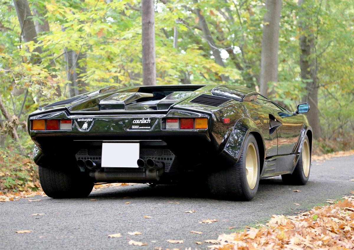 Photo Lamborghini Countach Lp 5000s Quattrovalvole 455ch Coup 233 1987 M 233 Diatheque Motorlegend Com