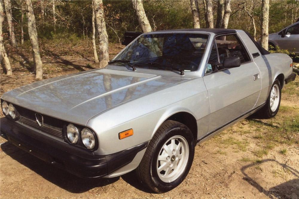 Photo Lancia Beta Spider 2000 Targa 1981