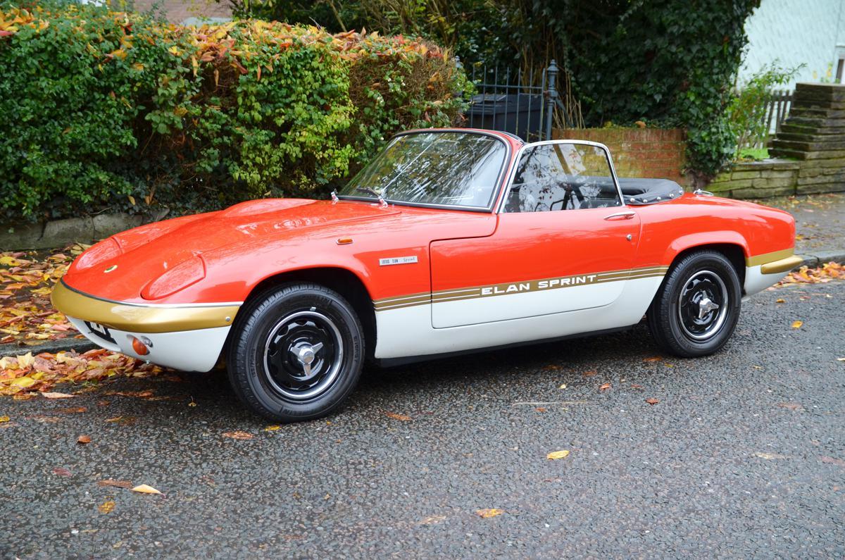 Photo Lotus Elan Sprint Cabriolet 1968 M 233 Diatheque