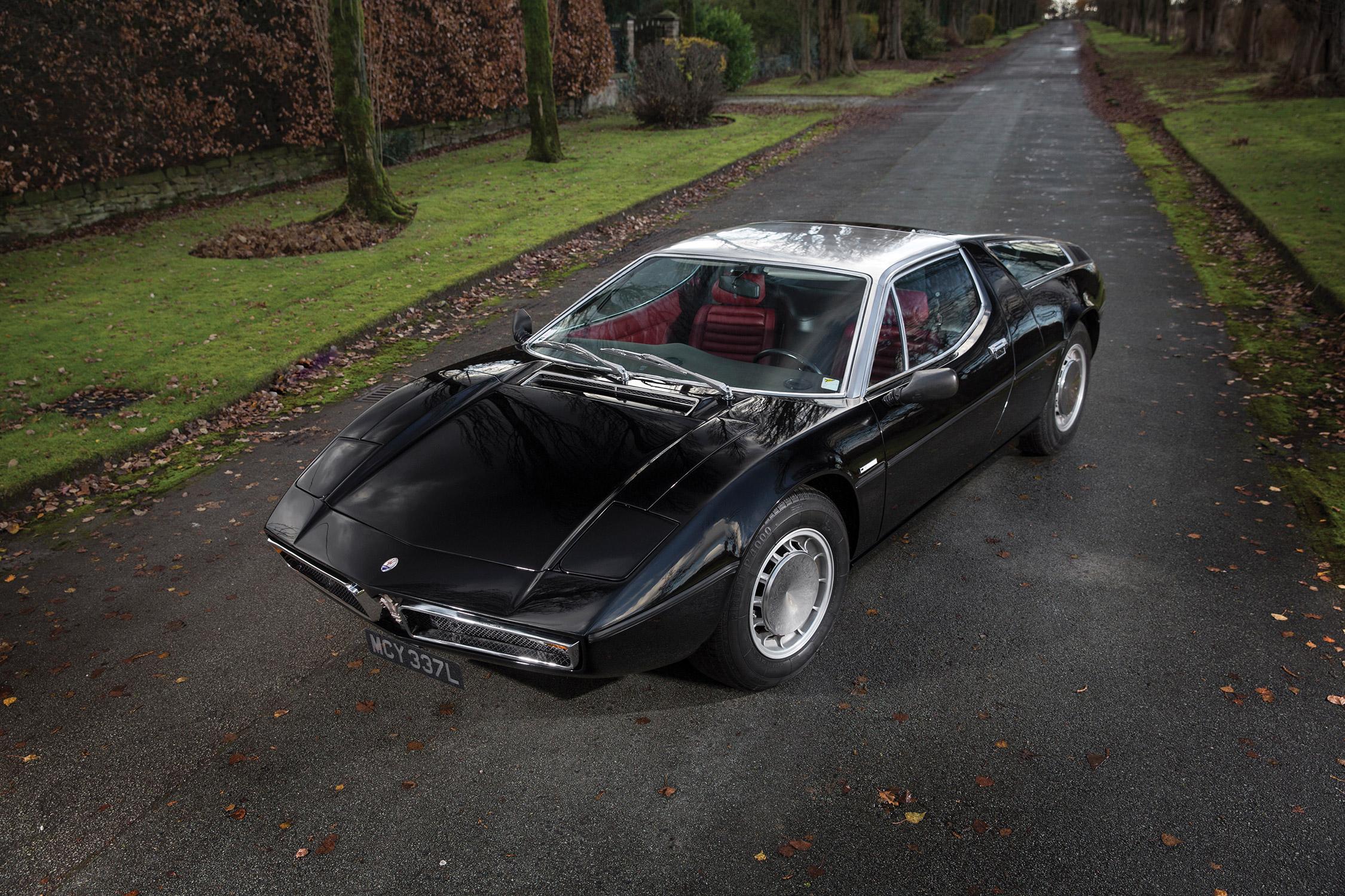 photo MASERATI BORA V8 4.9 330 ch coupé 1973 - Motorlegend.com