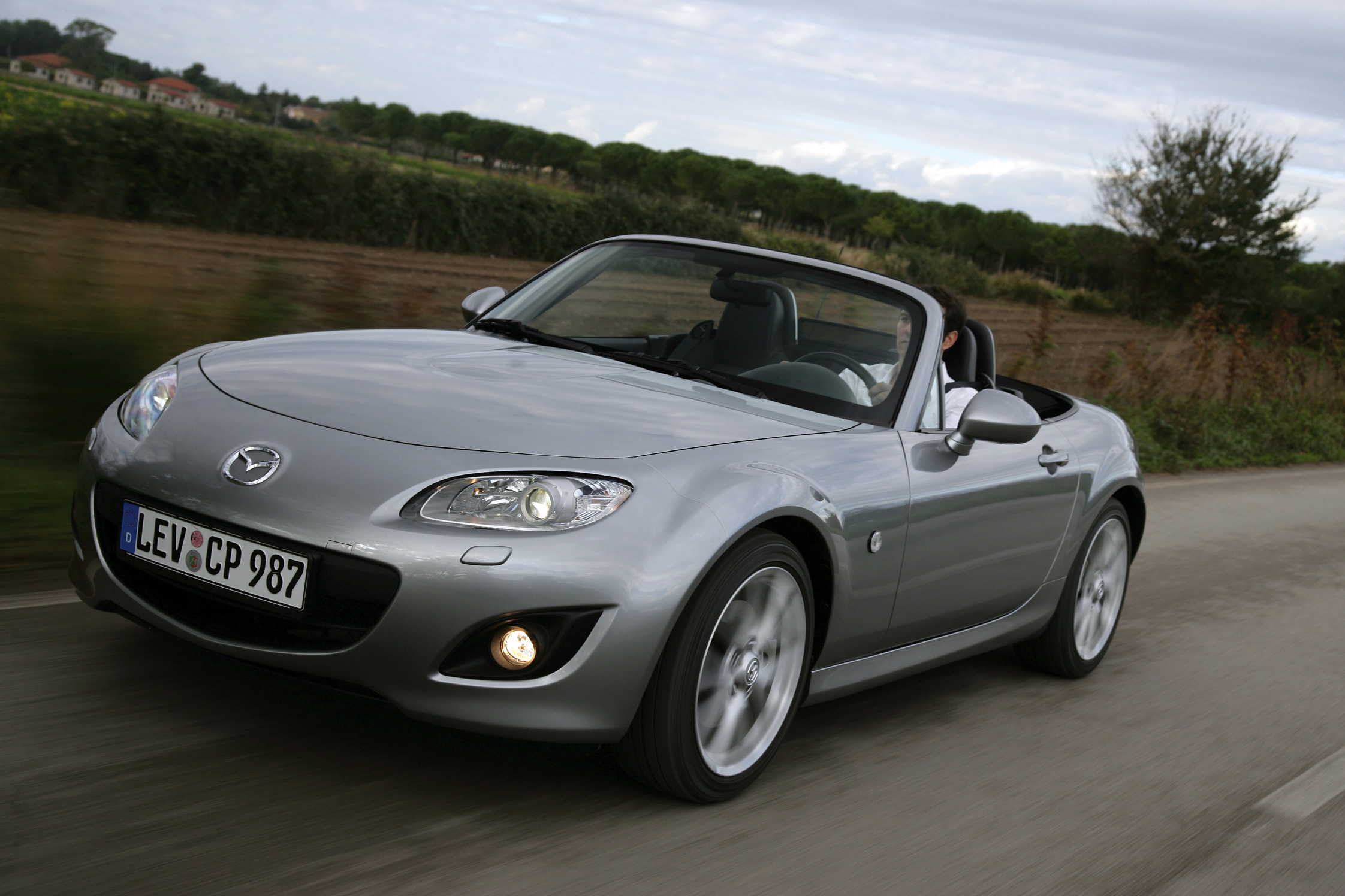 photo mazda mx 5 nc 1 8 mzr cabriolet cabriolet 2010 m diatheque. Black Bedroom Furniture Sets. Home Design Ideas