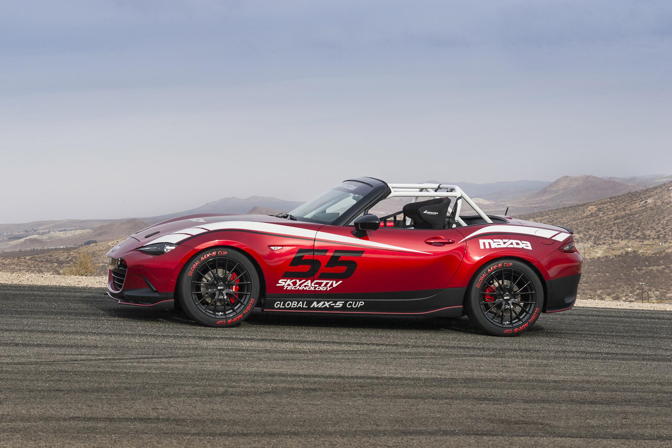 Mazda Unveils Miata Endurance Racer Concept