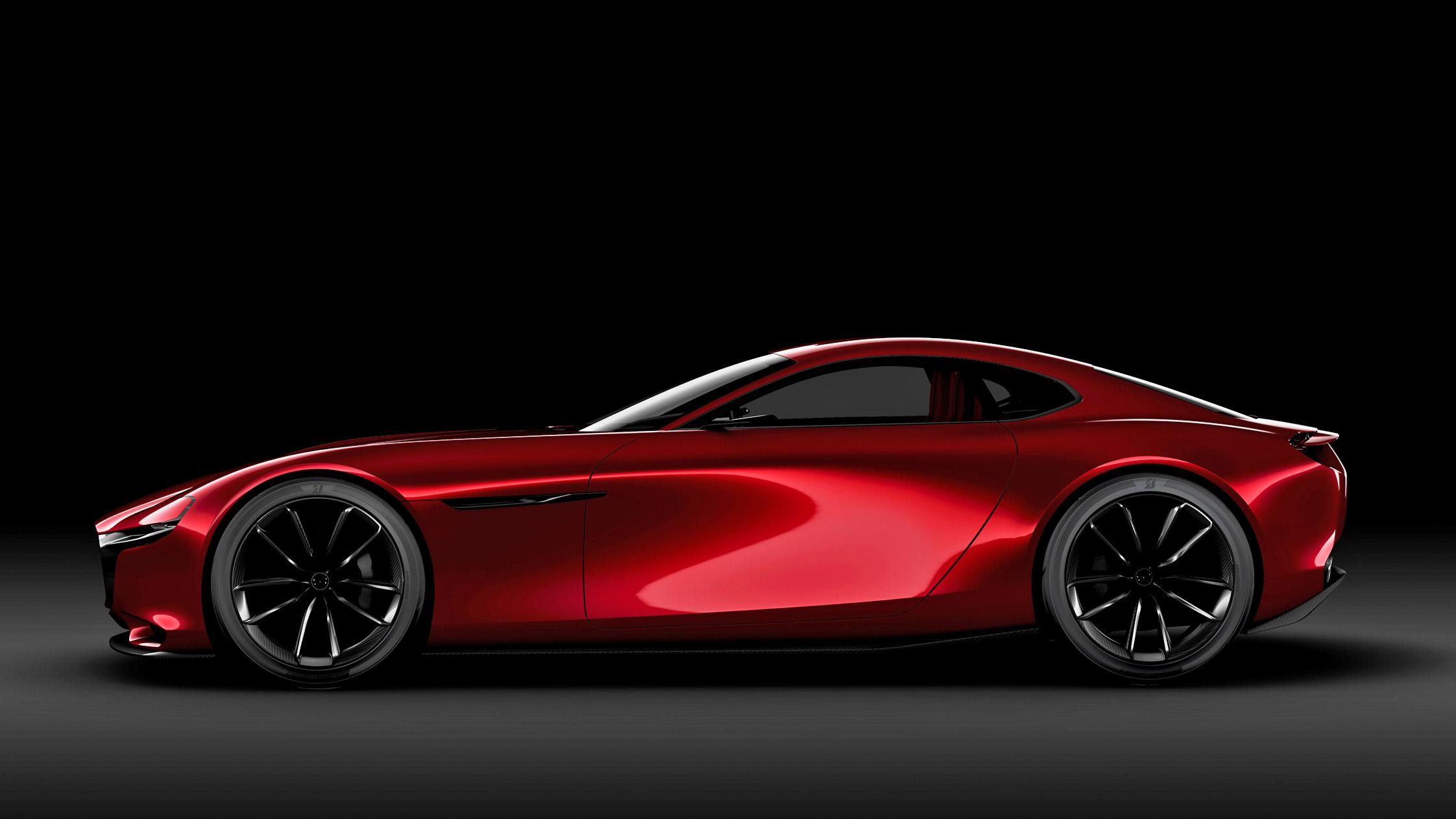 Photo mazda rx vision concept concept car 2016 for Concept car 2016
