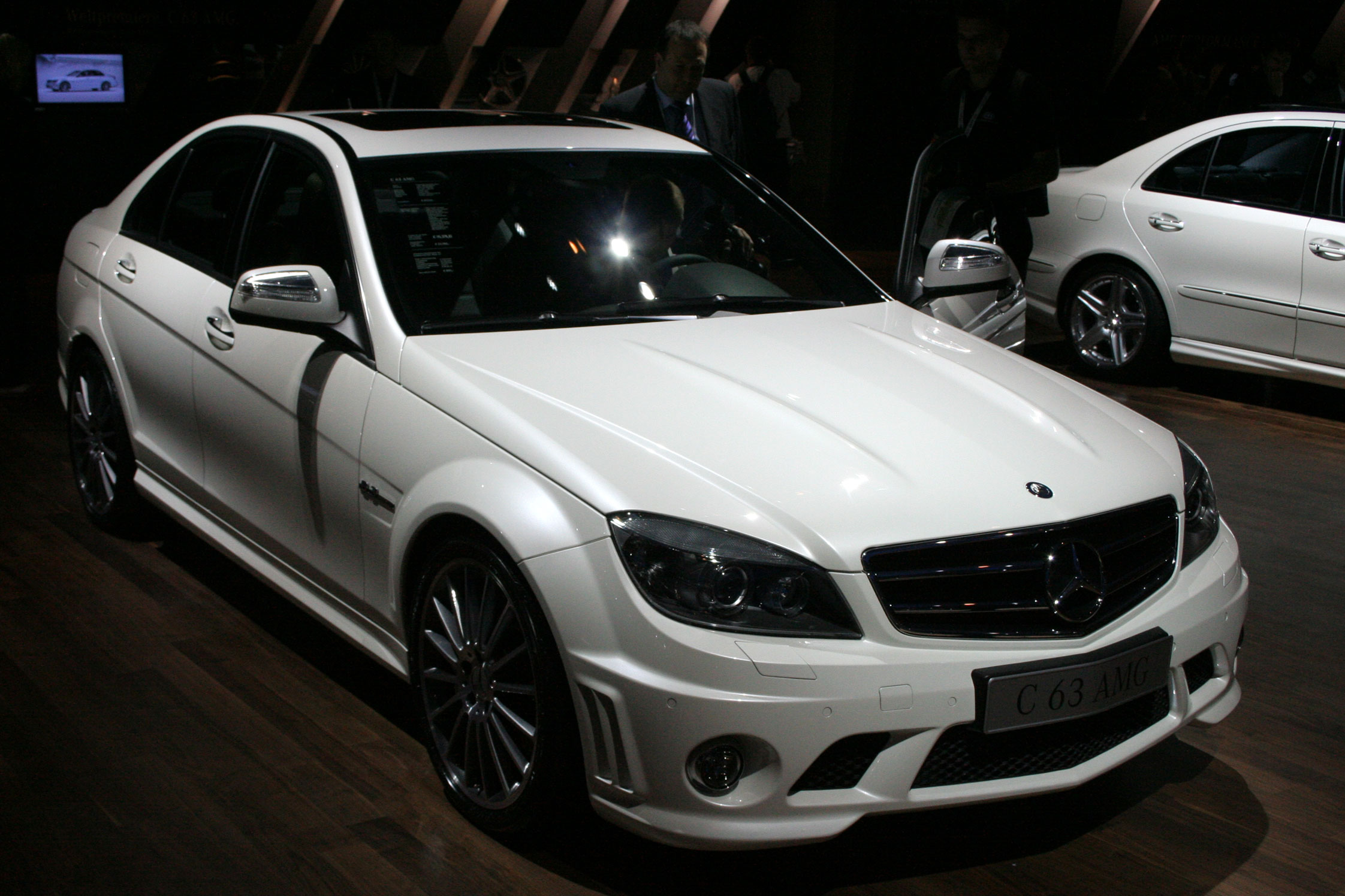 photo mercedes classe c berline w204 63 amg berline 2007 m diatheque. Black Bedroom Furniture Sets. Home Design Ideas