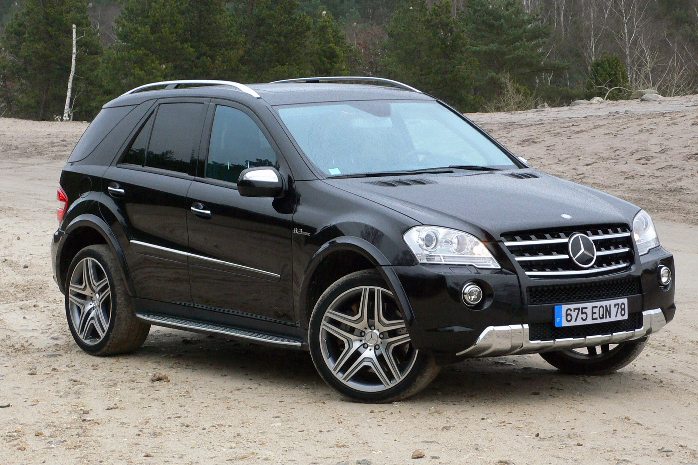 photo mercedes classe m w164 ml 63 amg suv 2009. Black Bedroom Furniture Sets. Home Design Ideas