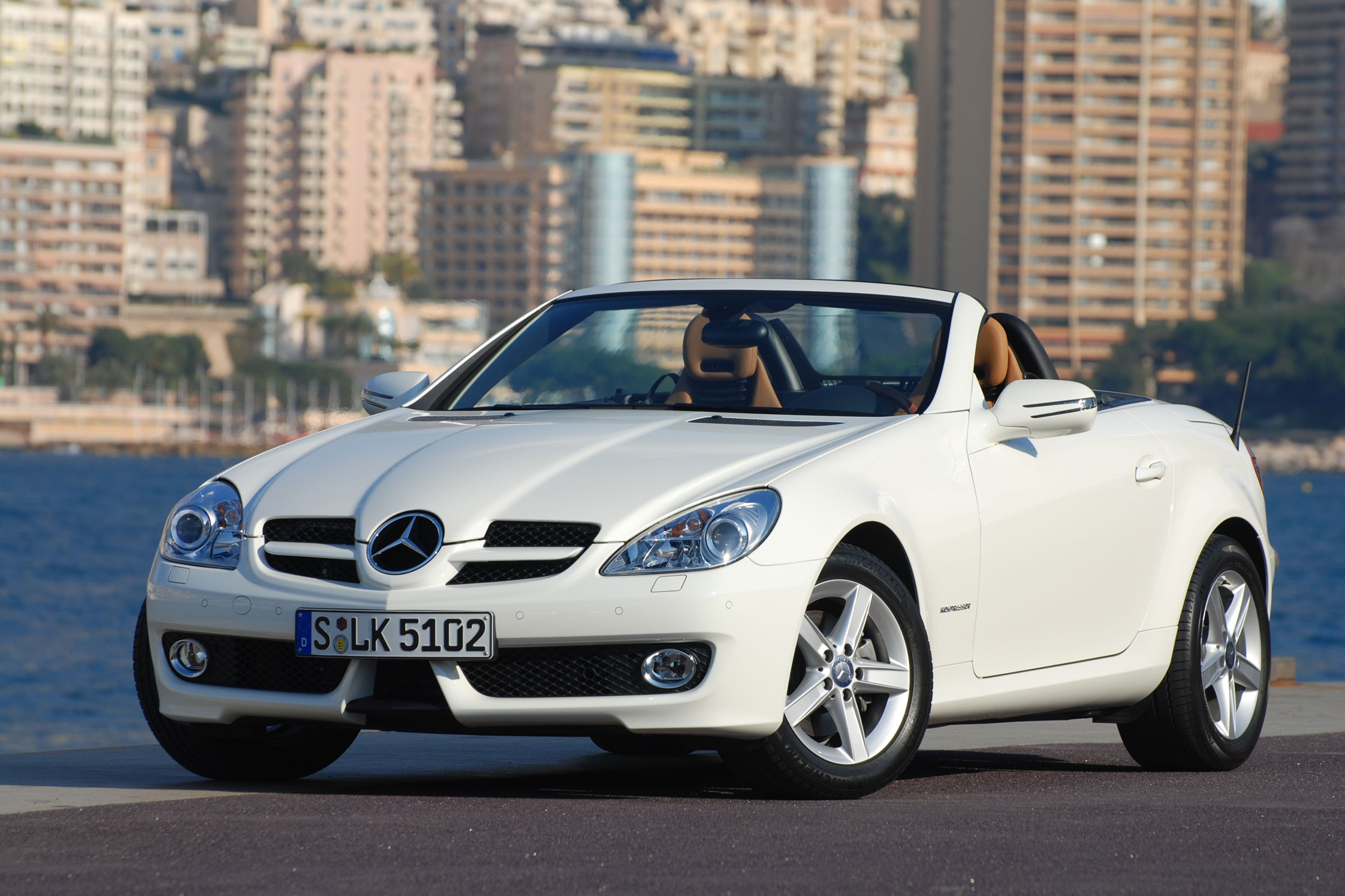 photo mercedes classe slk r171 350 272ch cabriolet 2008 m diatheque. Black Bedroom Furniture Sets. Home Design Ideas