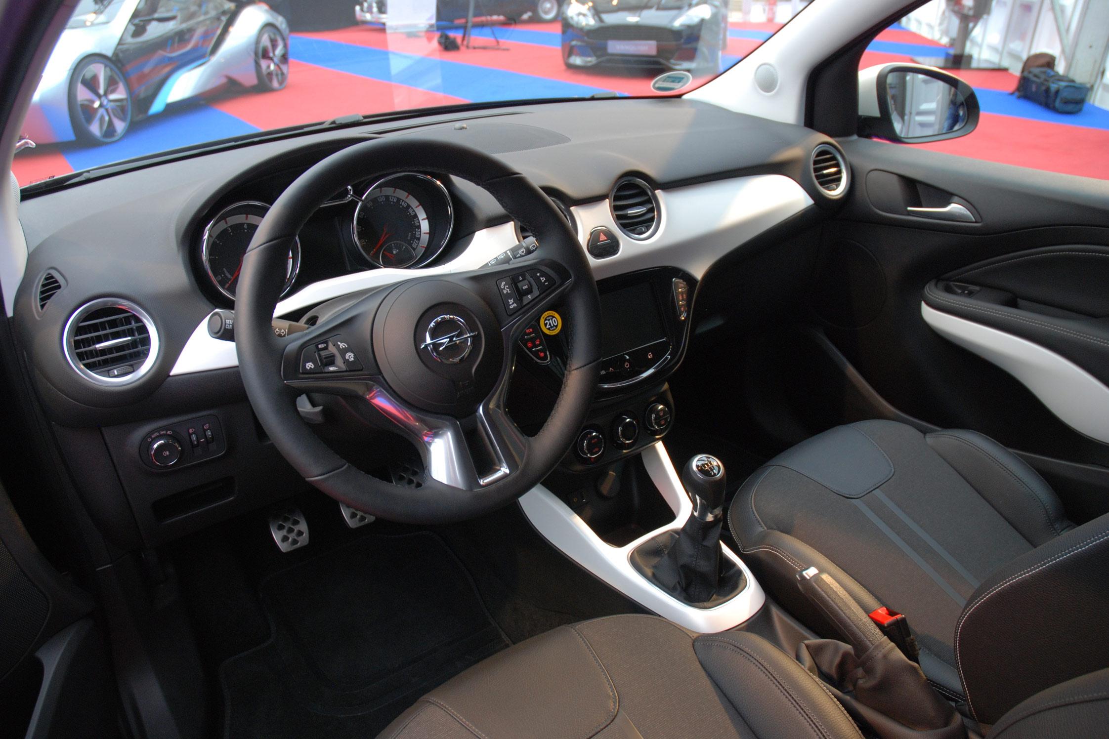 Grand prix du plus bel intérieur : Opel Adam - 28ème ...