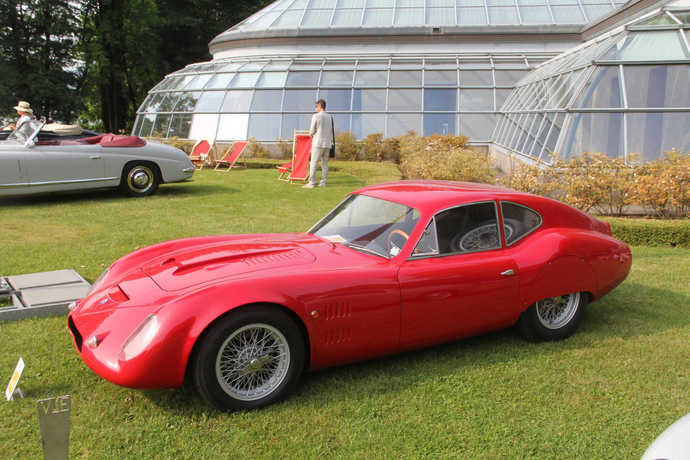 O S C A 1600 Sp Par Zagato 1963 Concorso D Eleganza Villa D Este 2012 Diaporama Photo