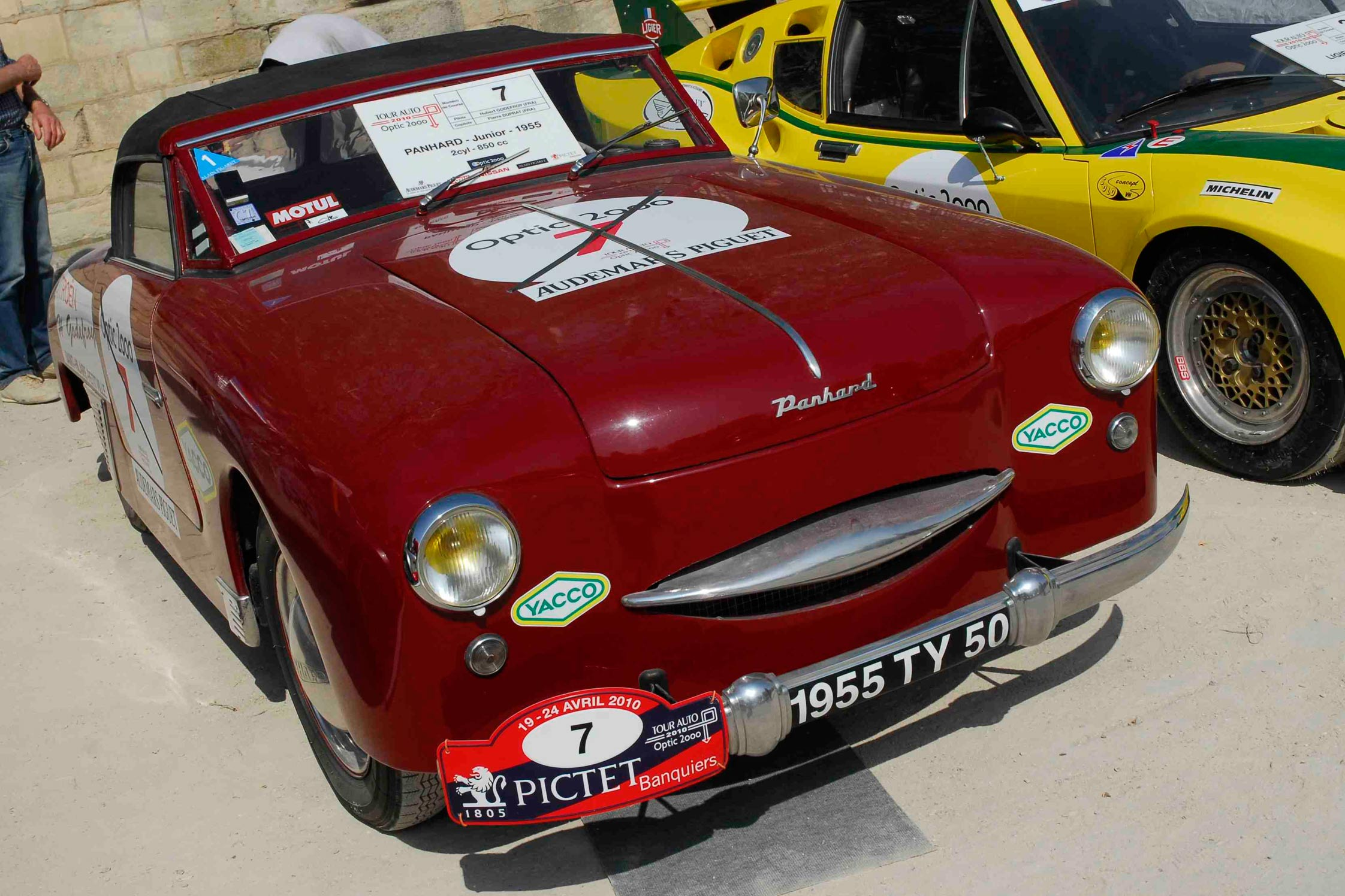 Images for gt ferrari 250 s - Panhard Junior Cabriolet Tour Auto 2010 Diaporama