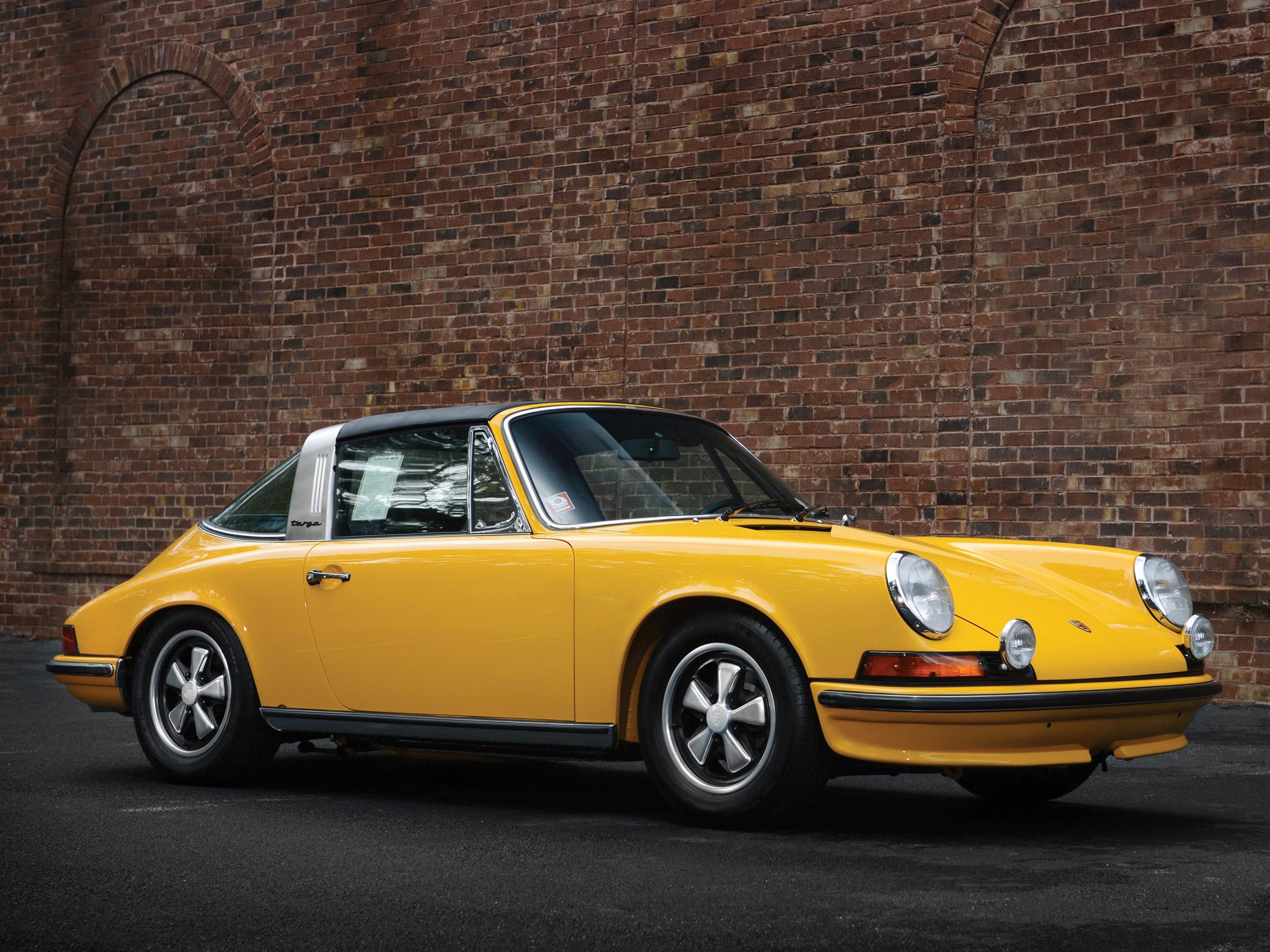 Photo Porsche 911 901 E 2 4 Targa Targa 1971