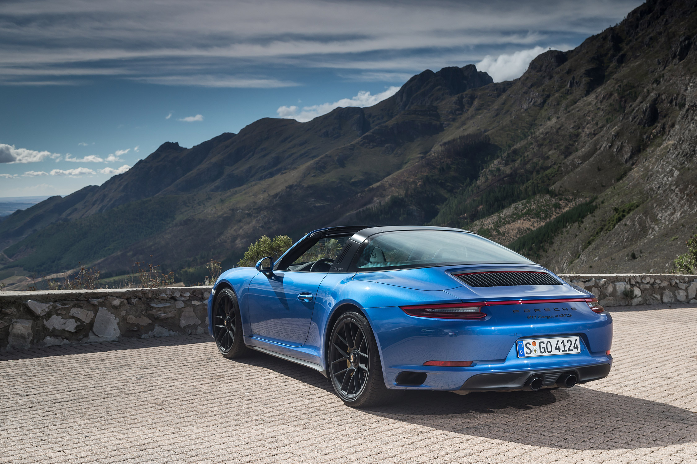 Photo Porsche 911 991 Targa 4 Gts Targa 2017