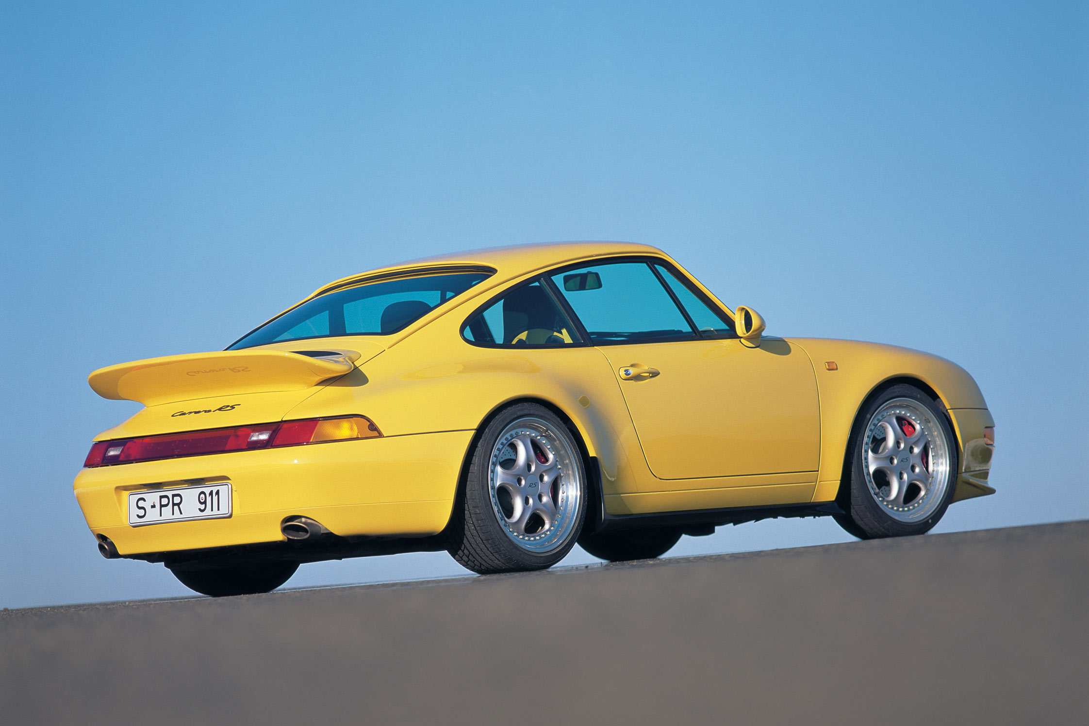 Photo Porsche 911 993 Carrera Rs Coup 233 1995