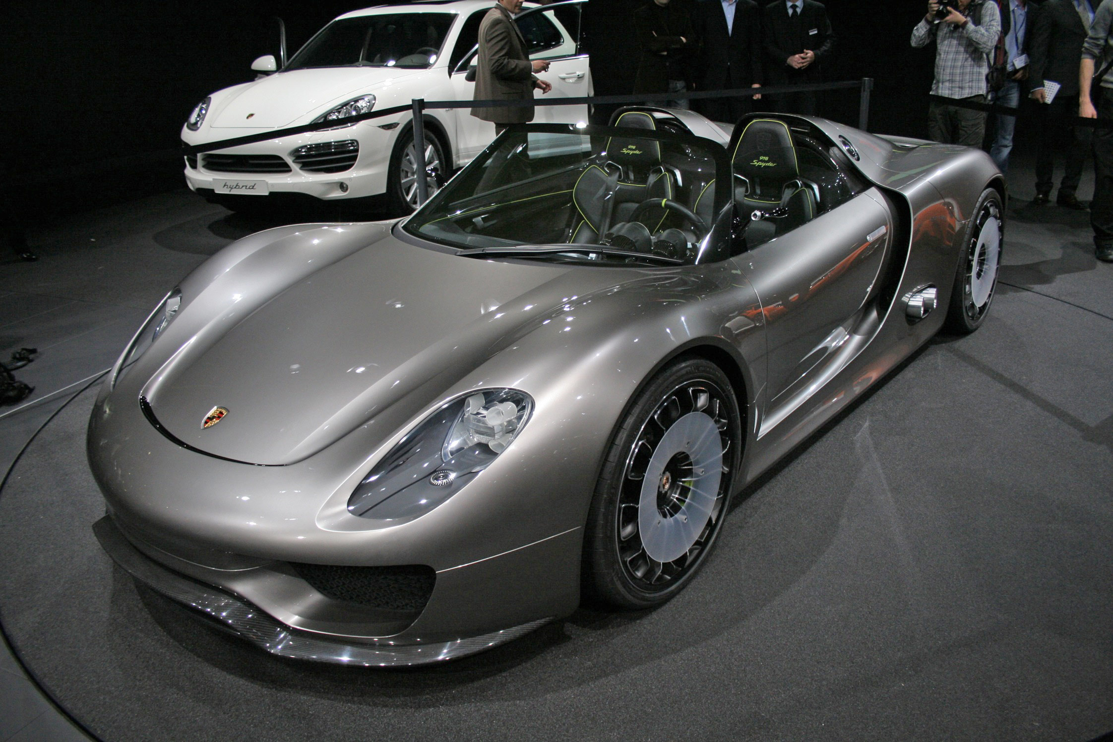 photo porsche 918 spyder hybride concept car 2010 m diatheque. Black Bedroom Furniture Sets. Home Design Ideas