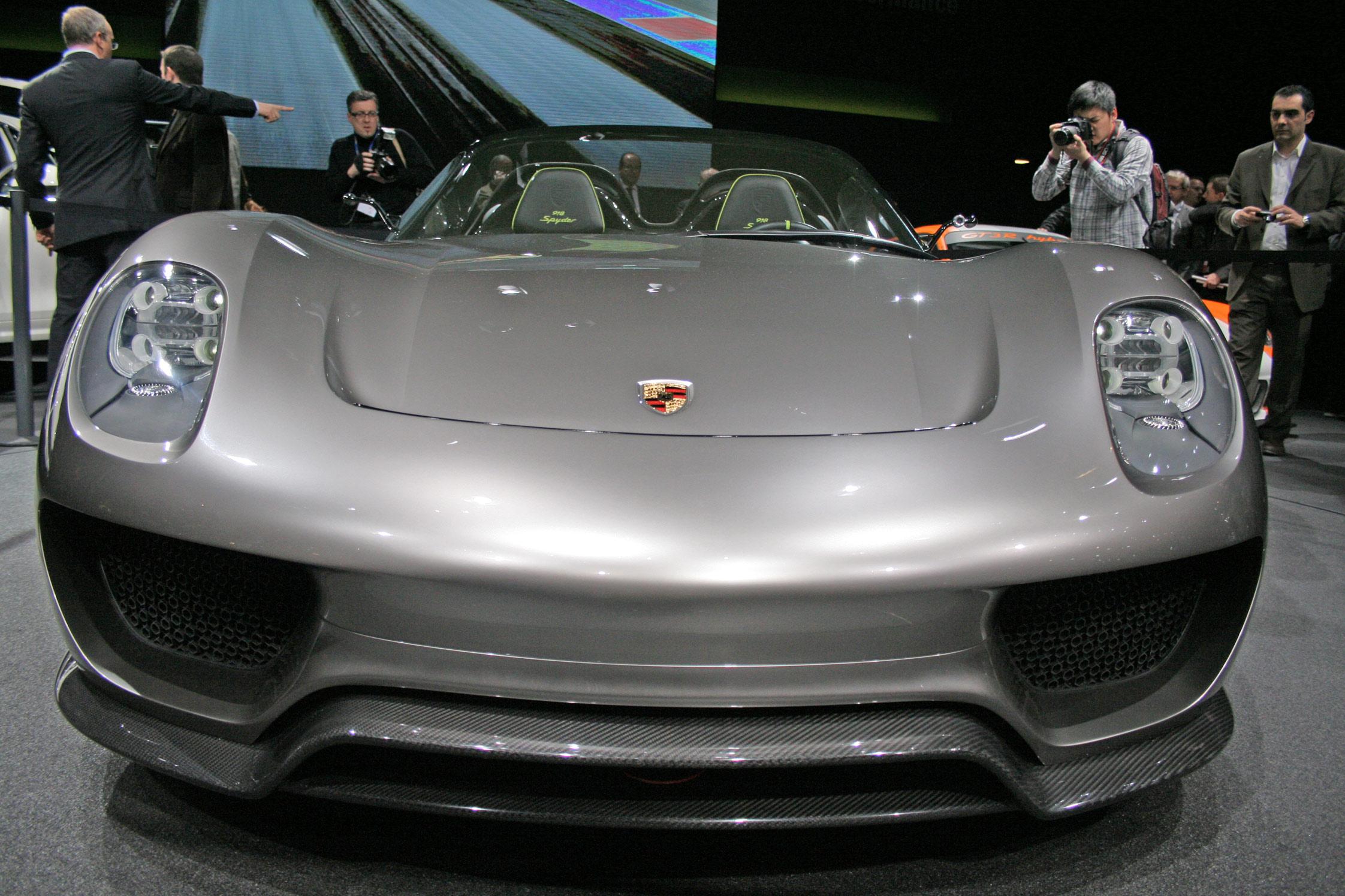 photo porsche 918 spyder hybride concept car 2010. Black Bedroom Furniture Sets. Home Design Ideas